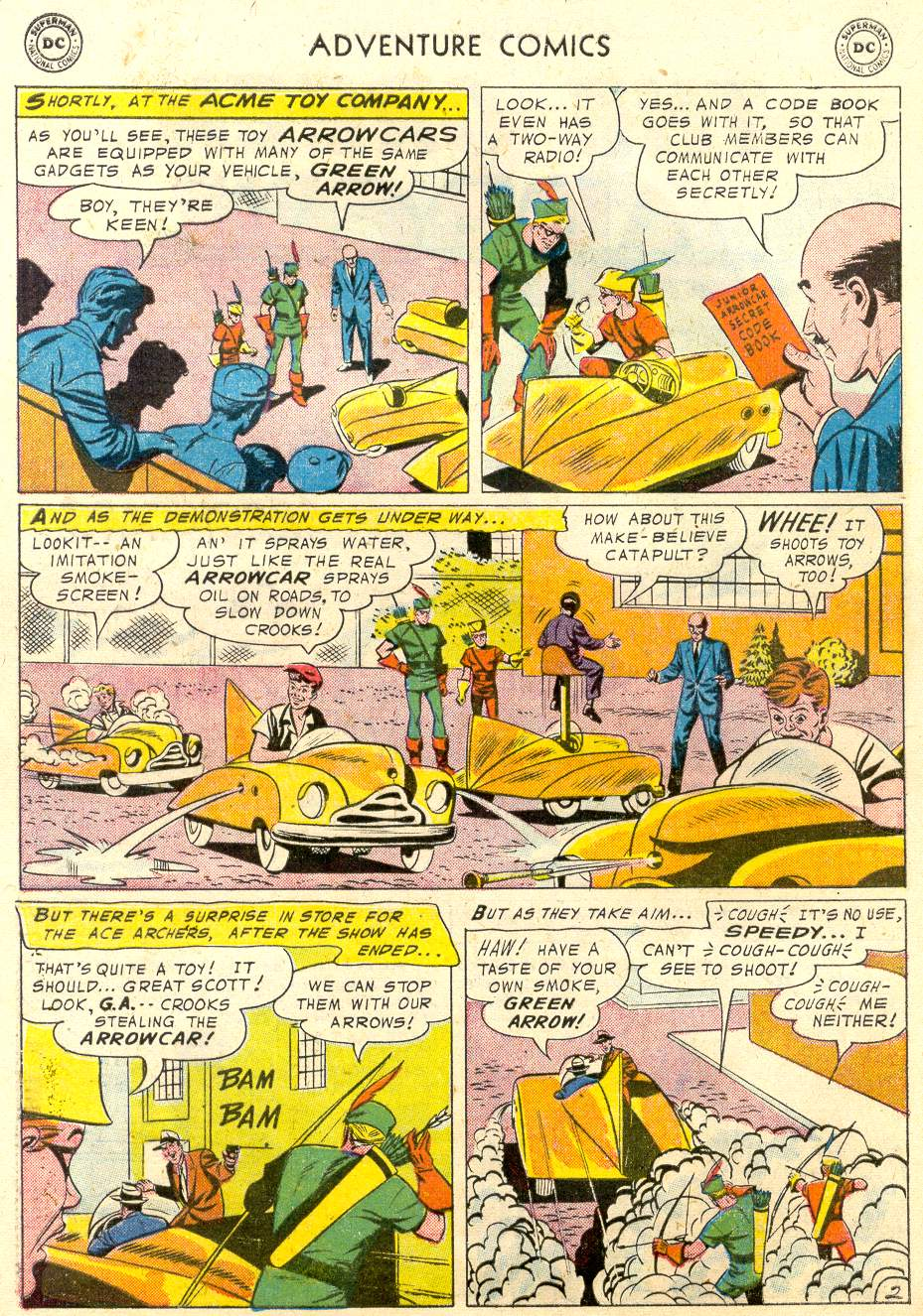 Read online Adventure Comics (1938) comic -  Issue #231 - 29