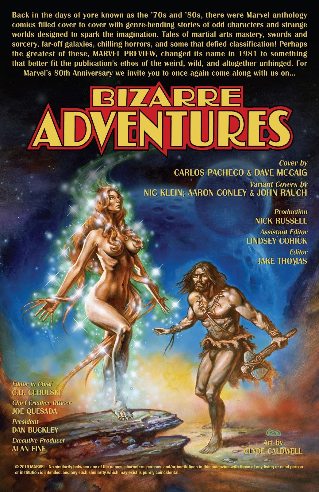 Read online Bizarre Adventures (2019) comic -  Issue # Full - 2