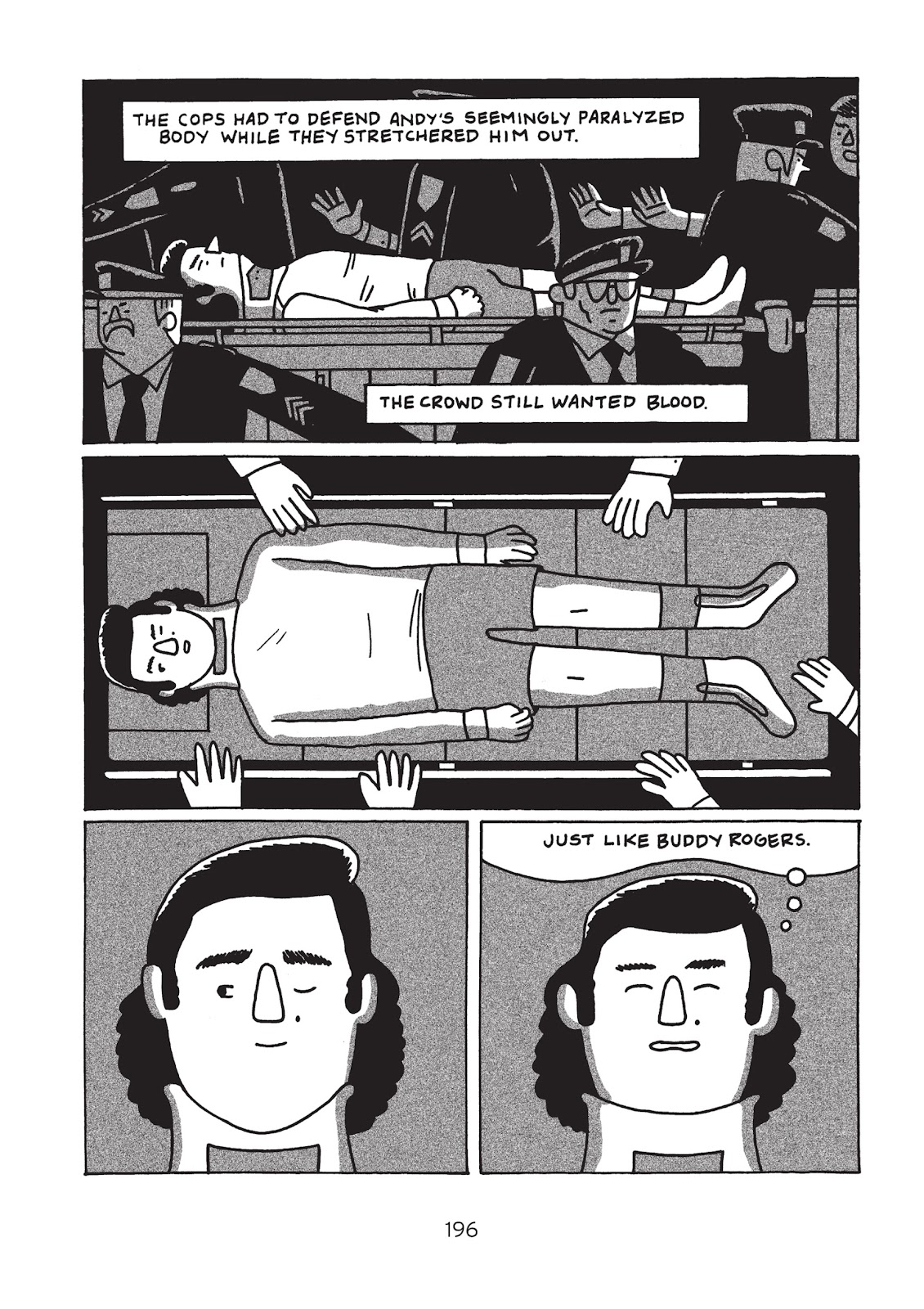 Read online Is This Guy For Real?: The Unbelievable Andy Kaufman comic -  Issue # TPB (Part 3) - 1