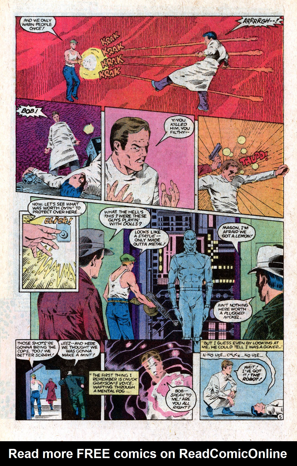 Read online All-Star Squadron comic -  Issue #63 - 9