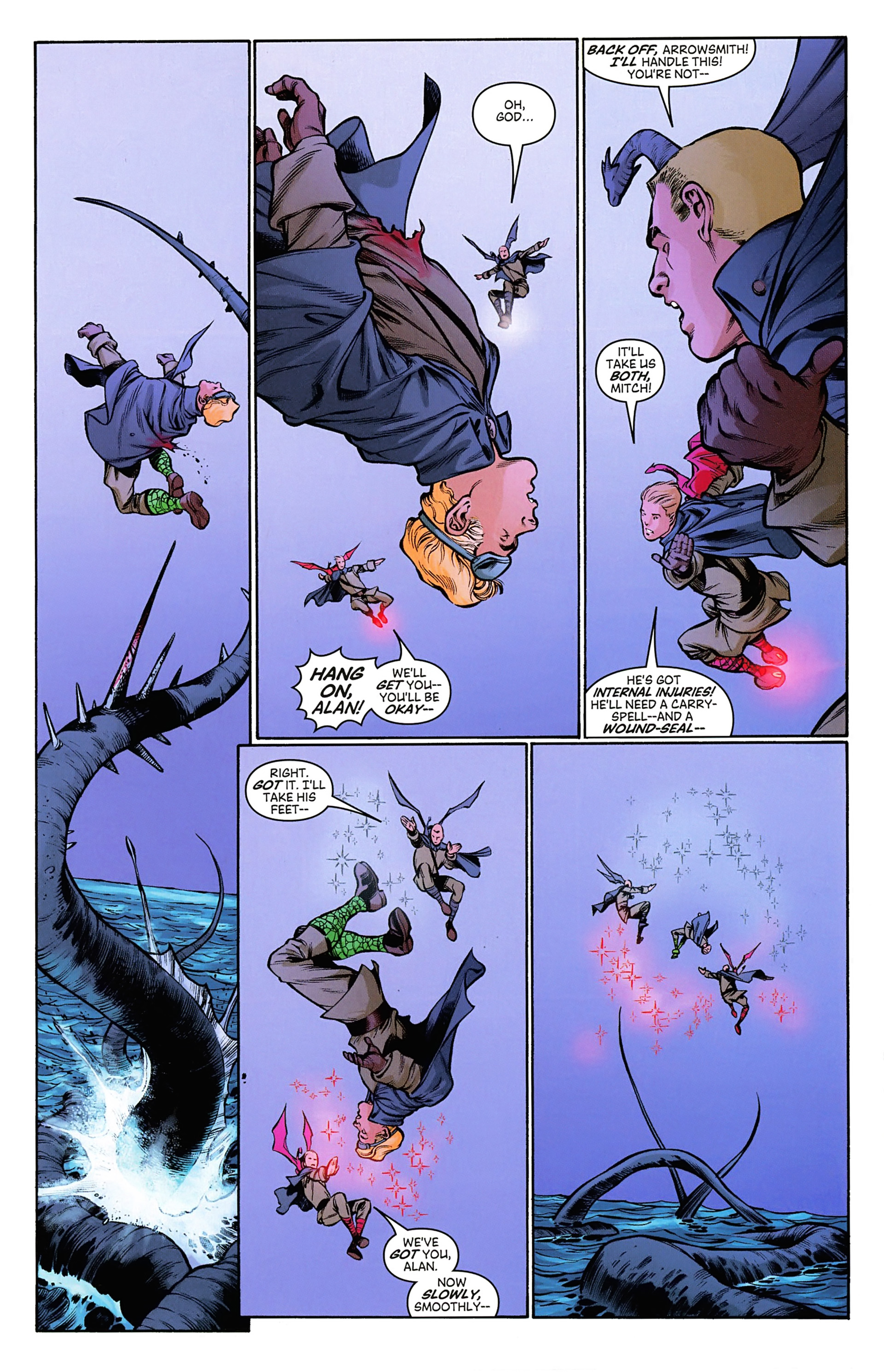Read online Arrowsmith comic -  Issue #3 - 14