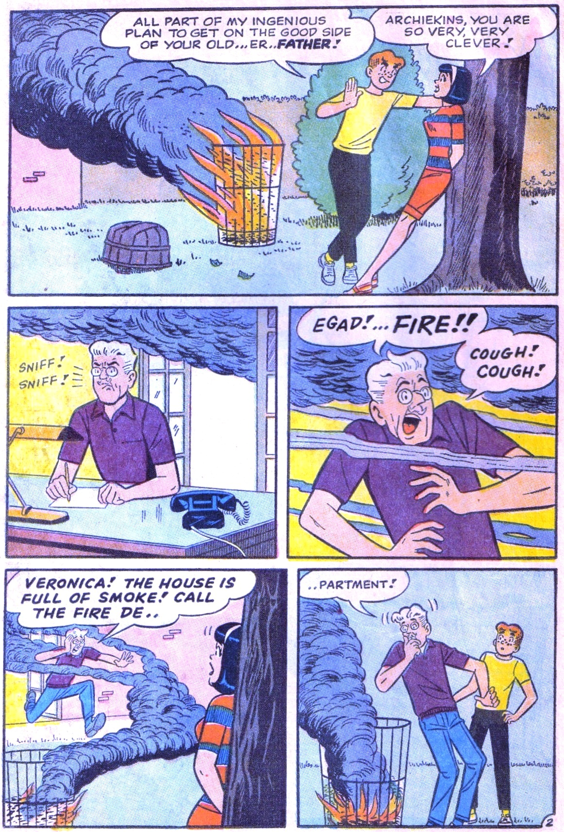 Read online Archie (1960) comic -  Issue #168 - 14