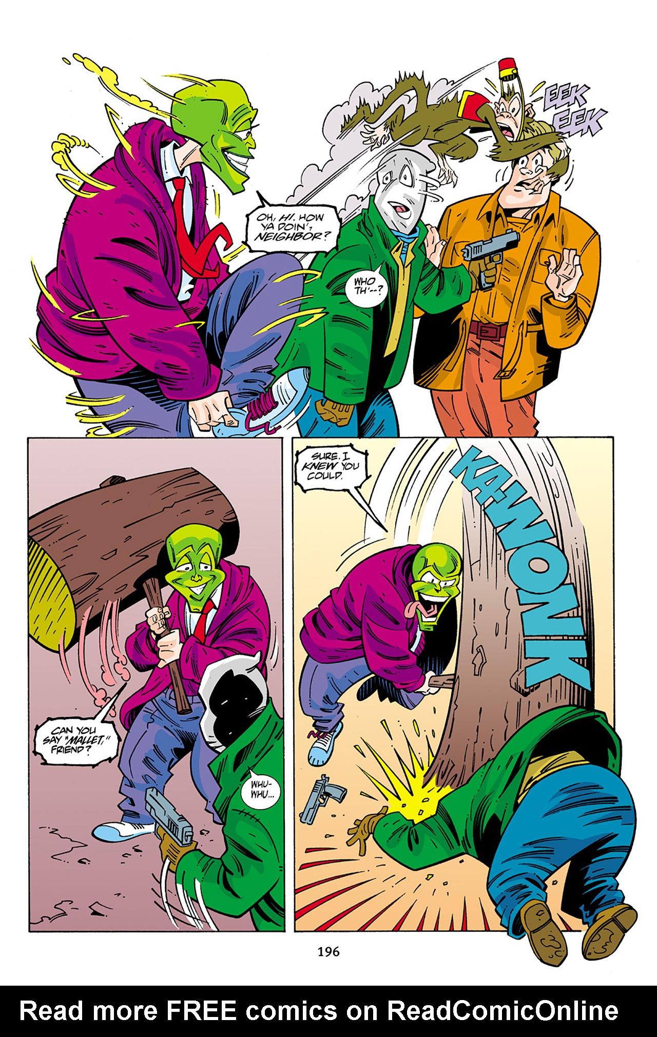 Read online Adventures Of The Mask Omnibus comic -  Issue #Adventures Of The Mask Omnibus Full - 195