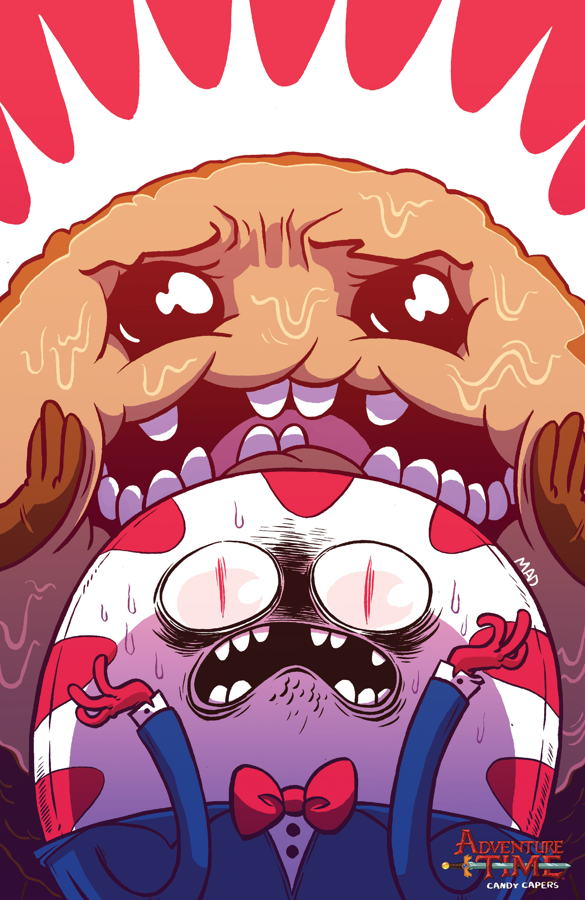 Read online Adventure Time: Candy Capers comic -  Issue #5 - 4