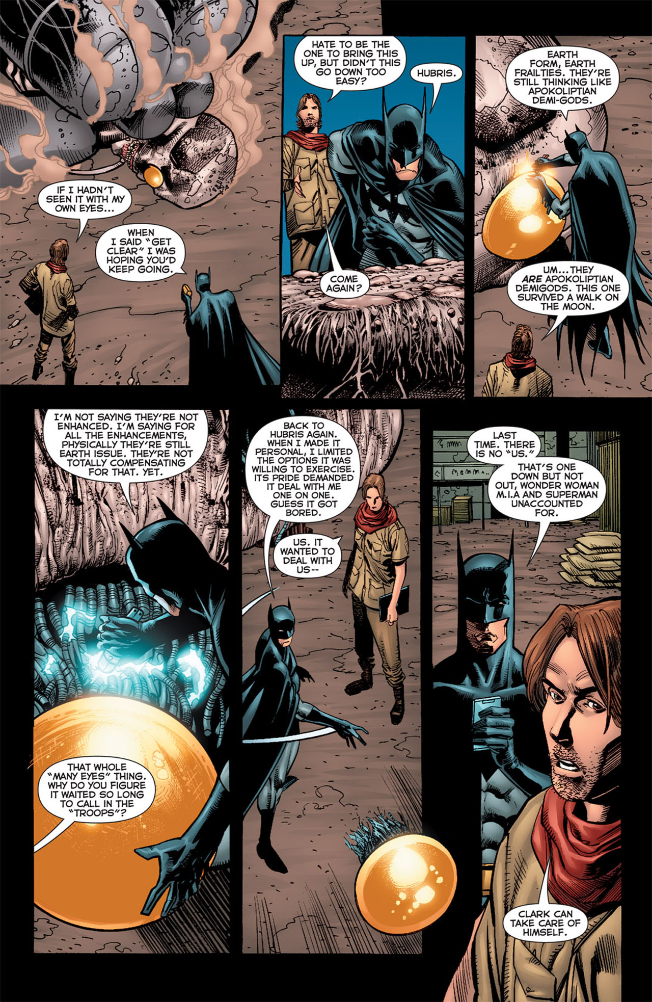 Read online 52 Aftermath: The Four Horsemen comic -  Issue #5 - 15
