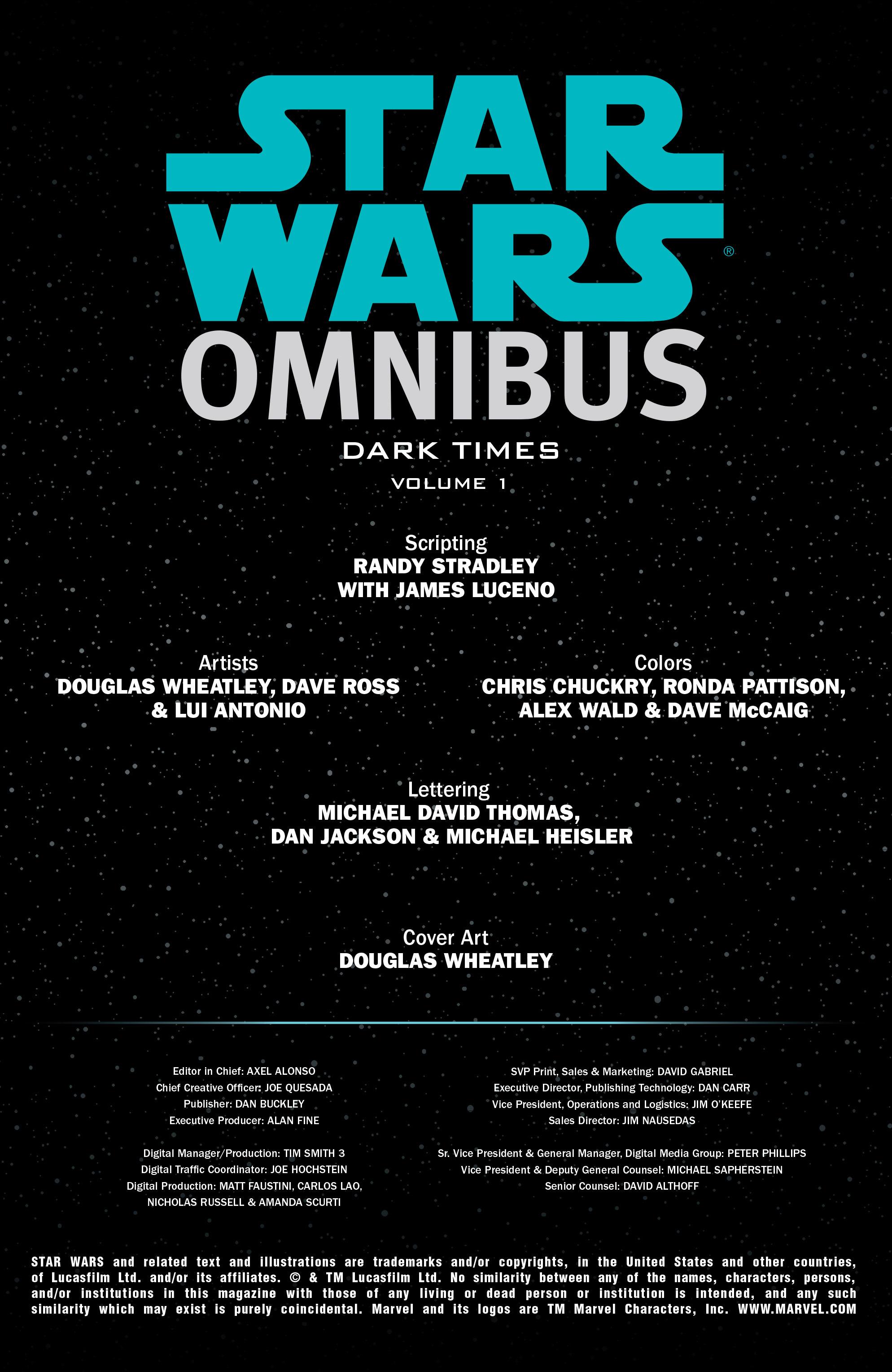Read online Star Wars Omnibus comic -  Issue # Vol. 31 - 2
