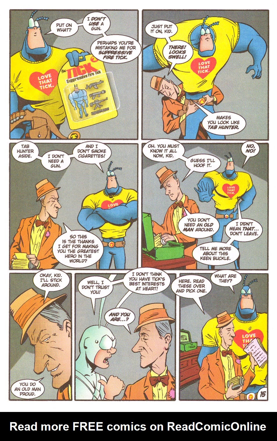 Read online The Tick: Days of Drama comic -  Issue #5 - 17