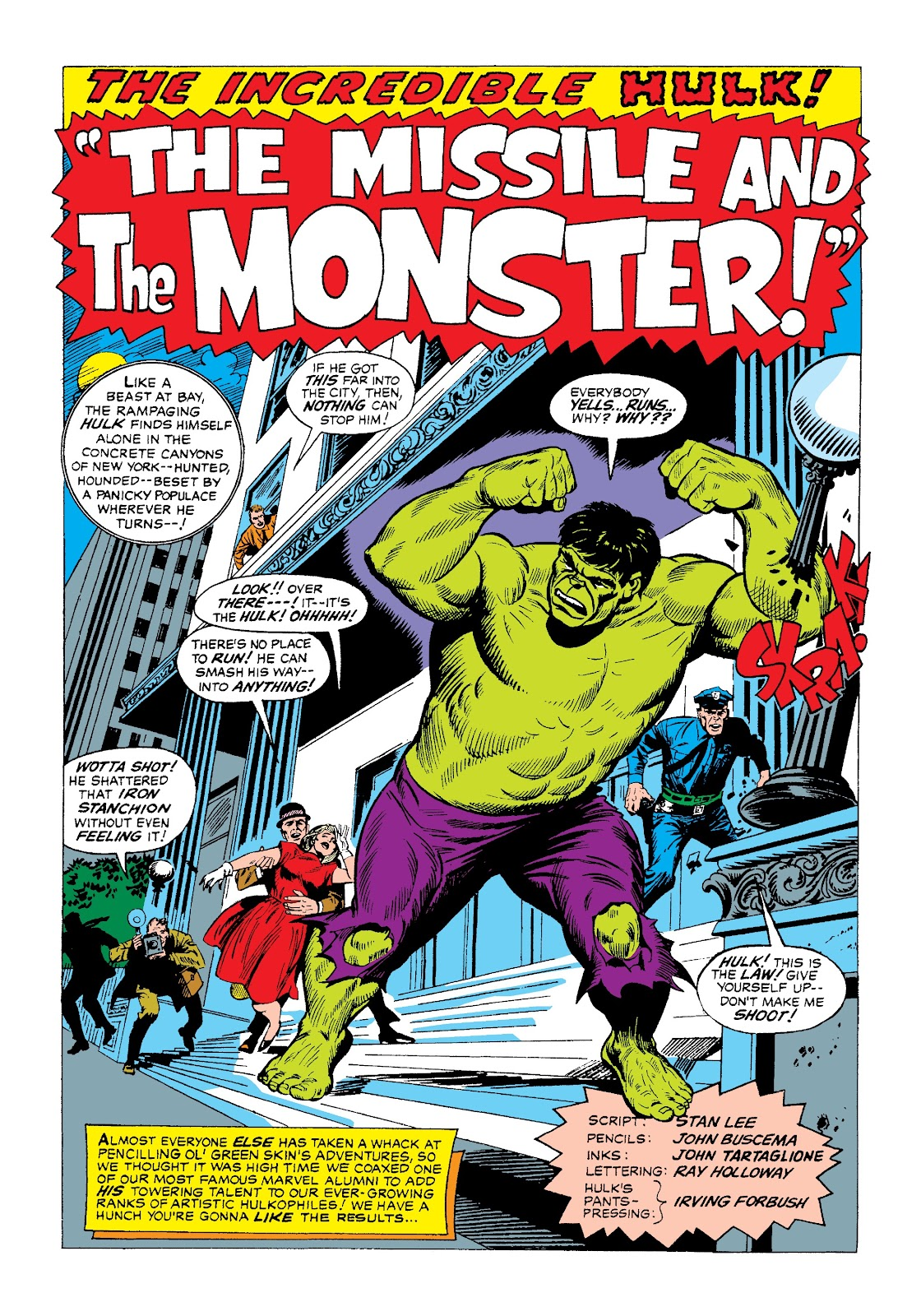 Read online Marvel Masterworks: The Incredible Hulk comic -  Issue # TPB 3 (Part 1) - 63