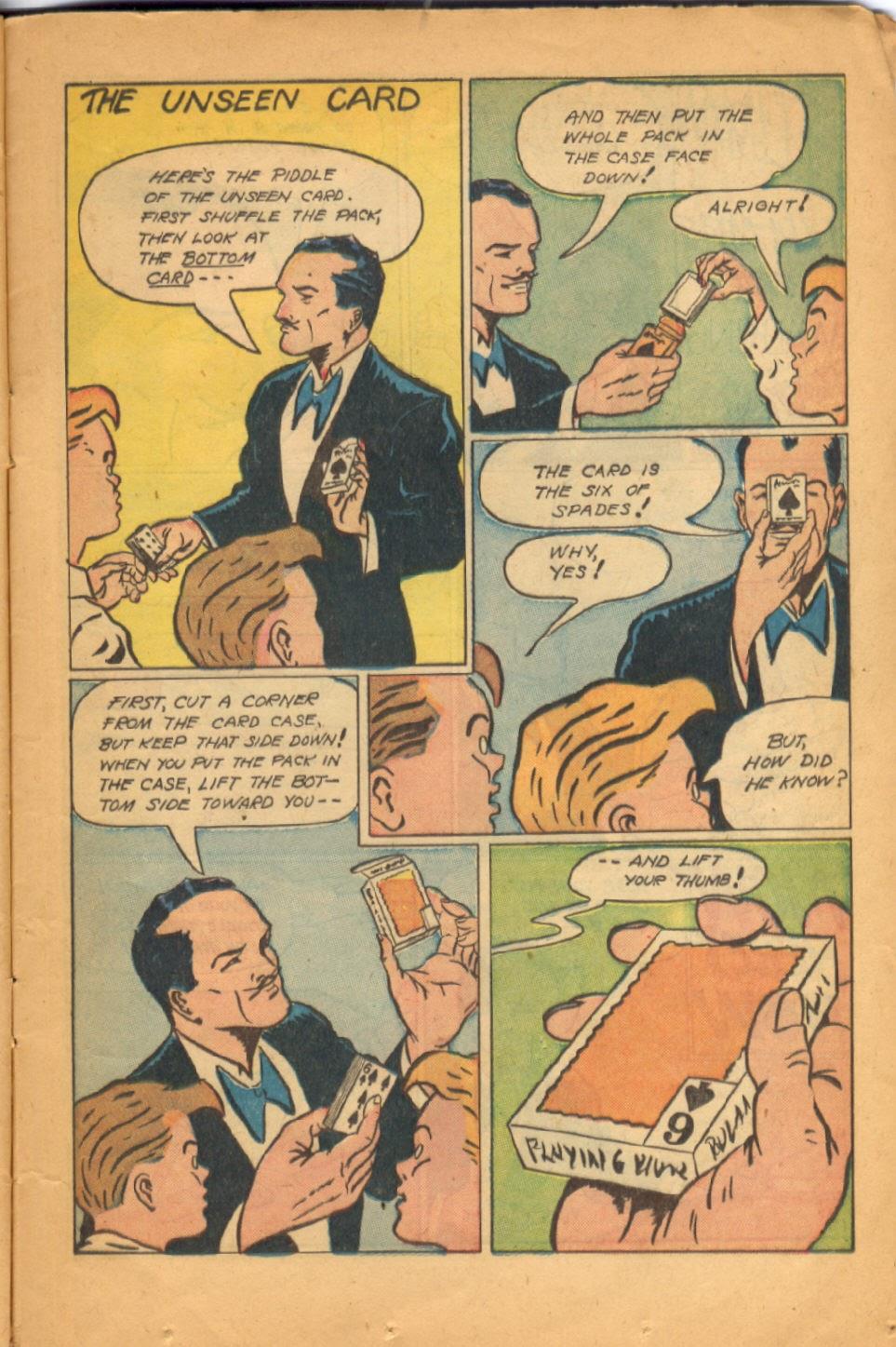 Read online Super-Magician Comics comic -  Issue #52 - 22