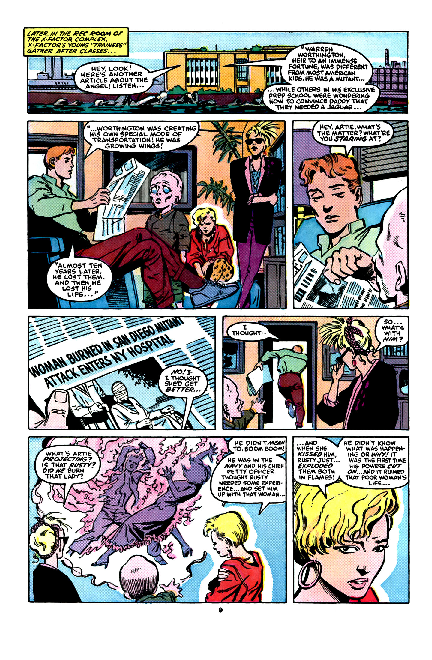 Read online X-Factor (1986) comic -  Issue #16 - 10