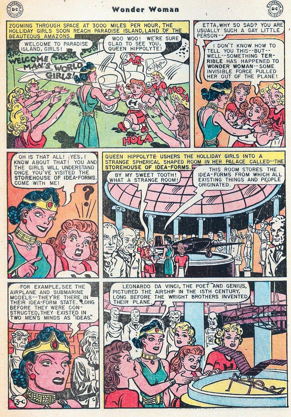 Read online Wonder Woman (1942) comic -  Issue #27 - 40
