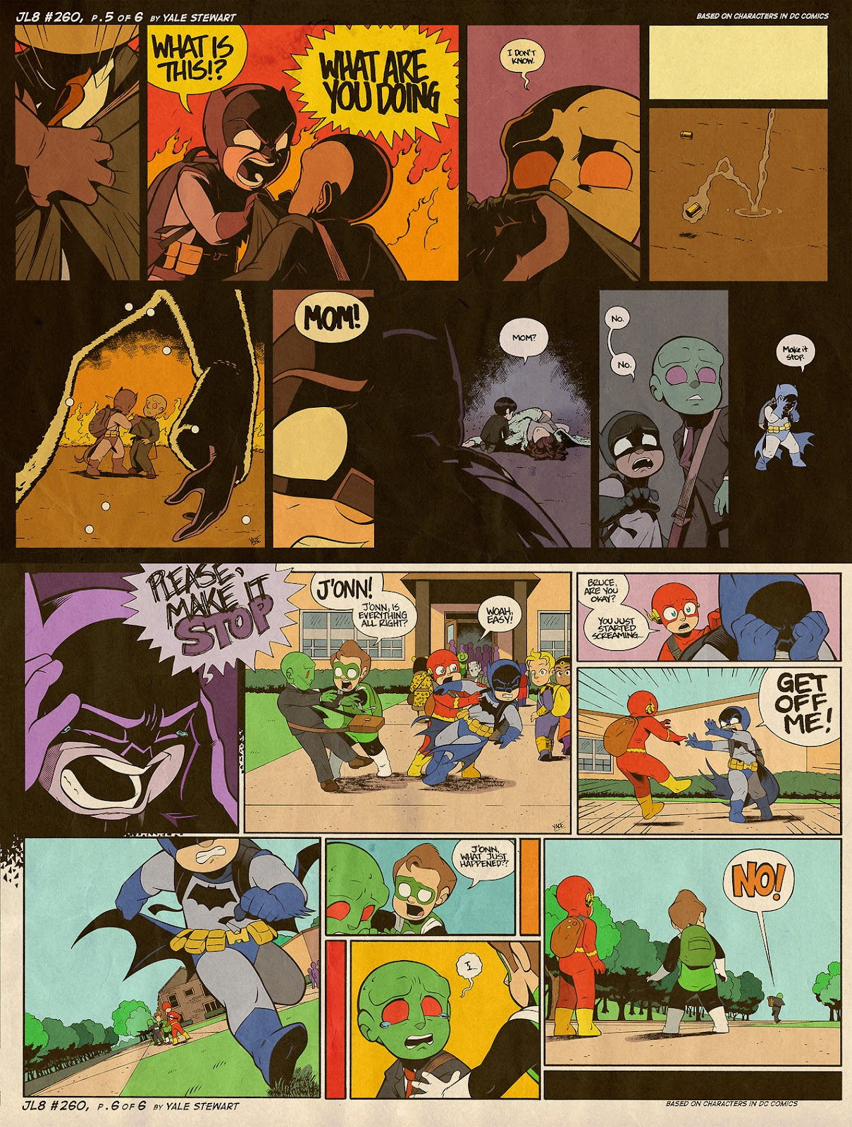 Read online JL8 – The Complete Collection comic -  Issue # TPB (Part 2) - 72