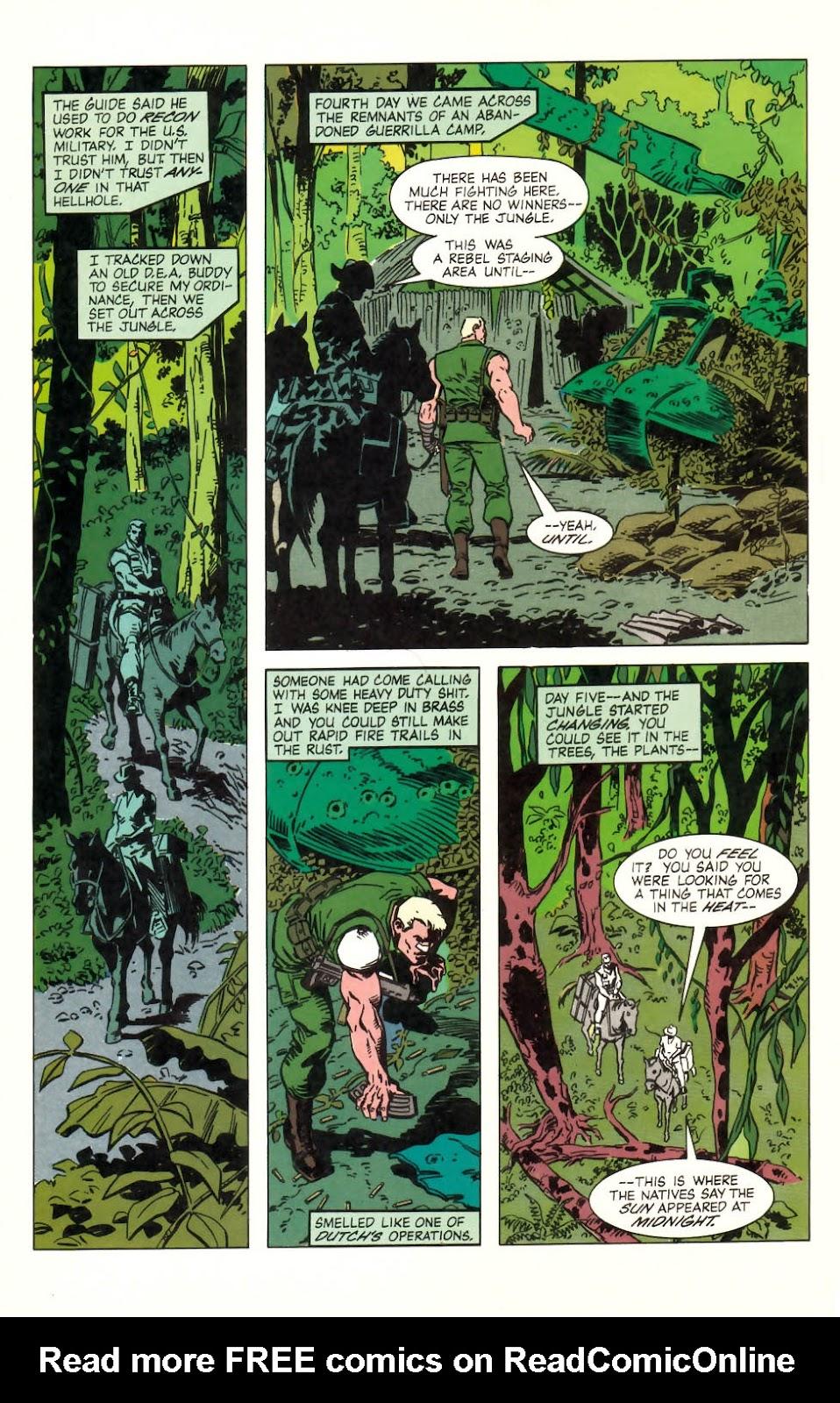 Predator (1989) issue 2 - Page 14