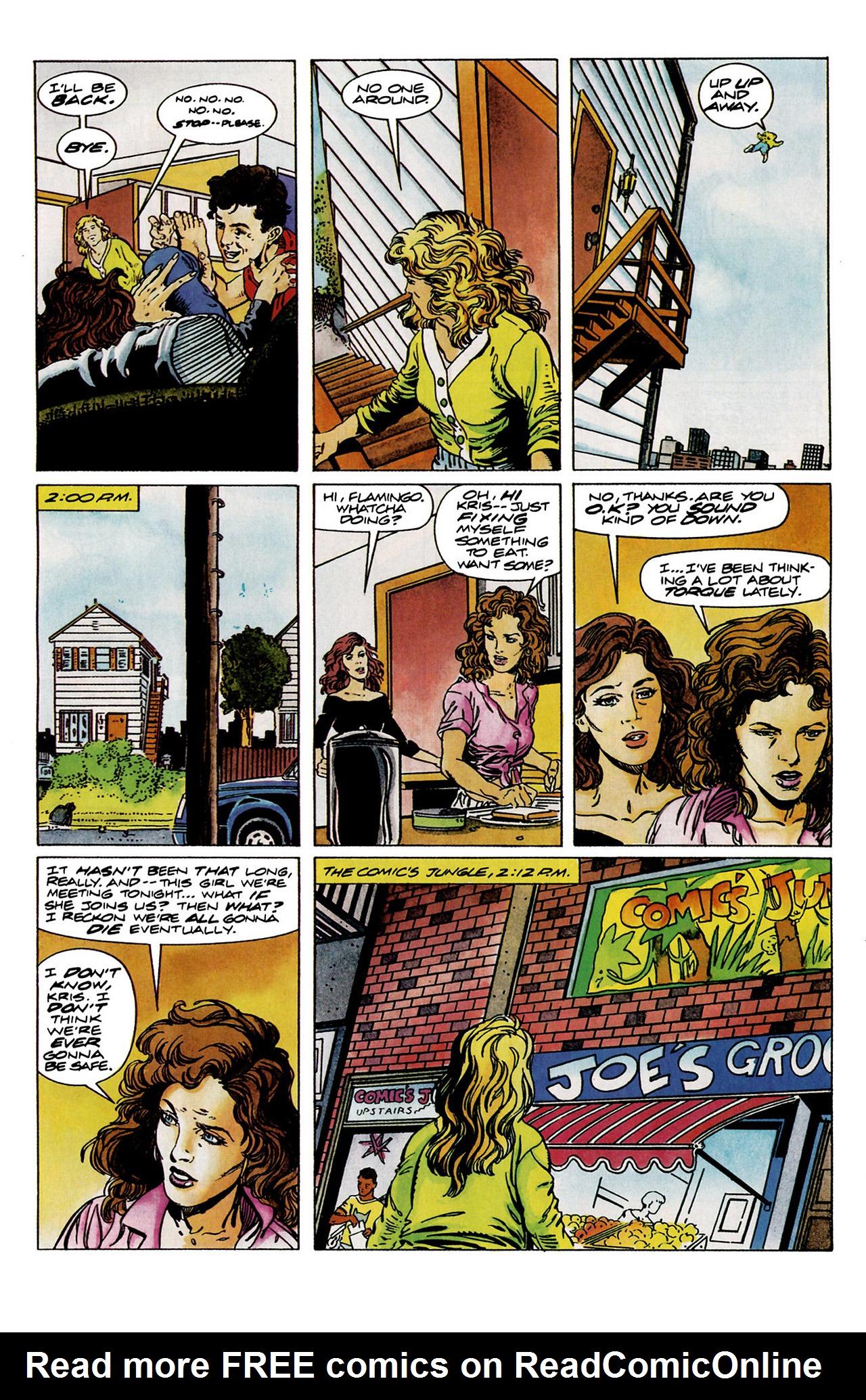 Read online Harbinger (1992) comic -  Issue #11 - 4