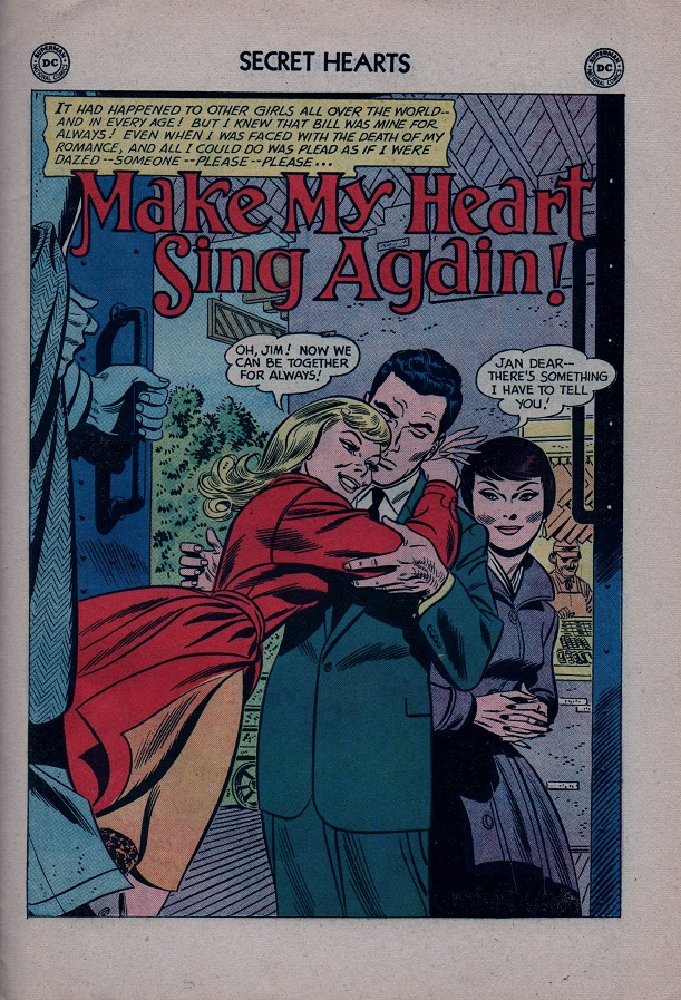 Read online Secret Hearts comic -  Issue #79 - 27