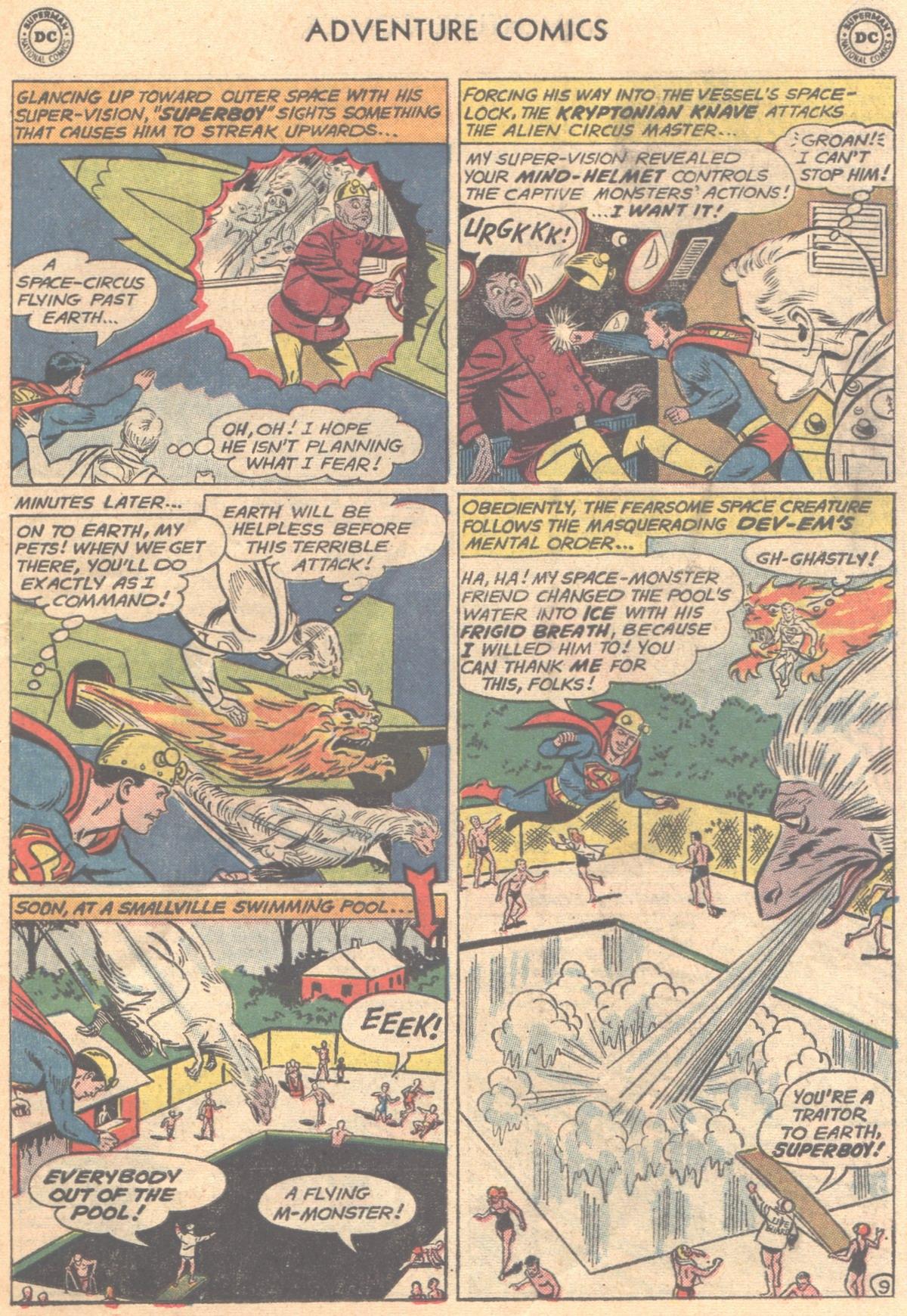 Read online Adventure Comics (1938) comic -  Issue #288 - 11