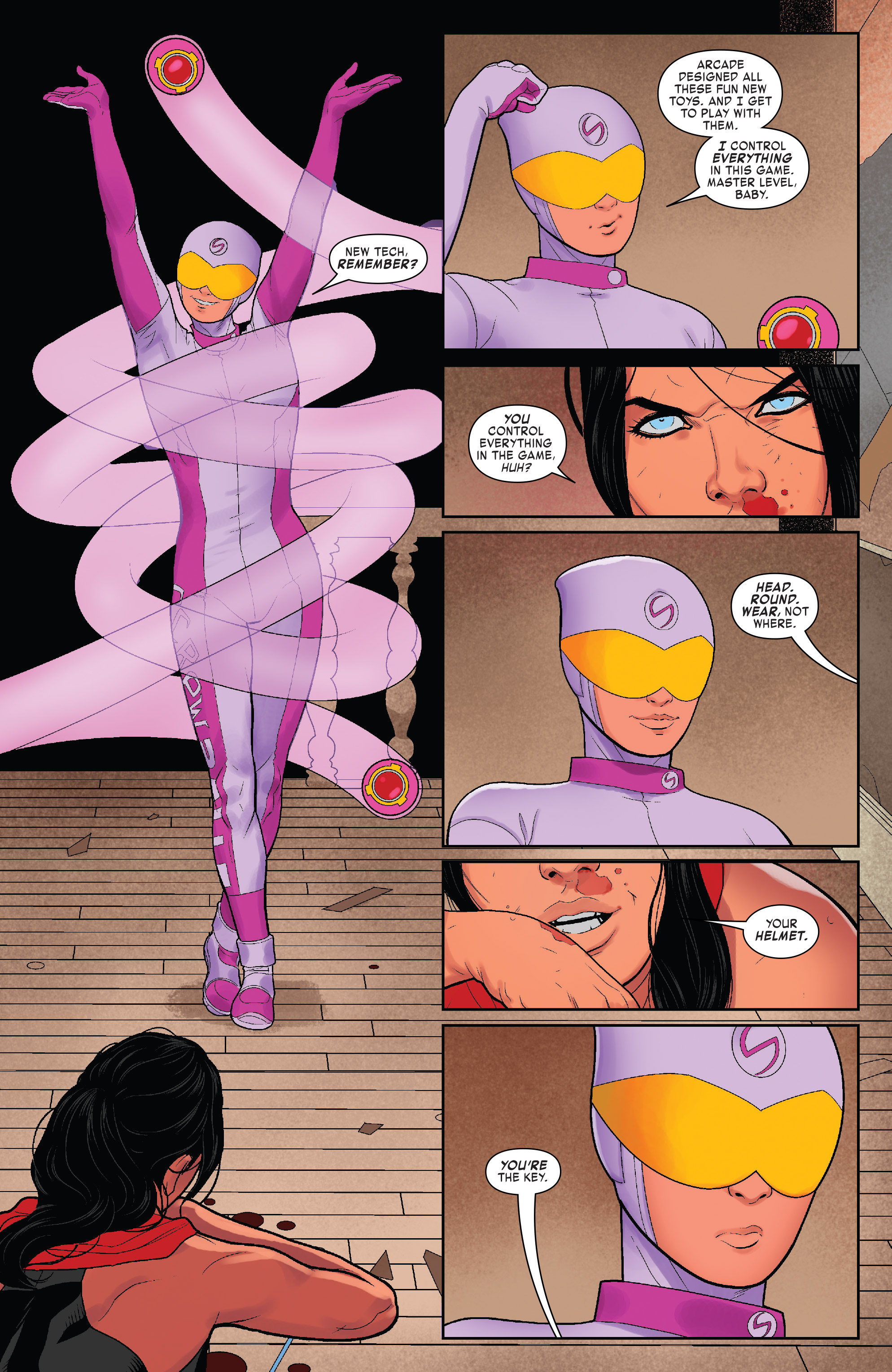 Read online Elektra (2017) comic -  Issue #4 - 17