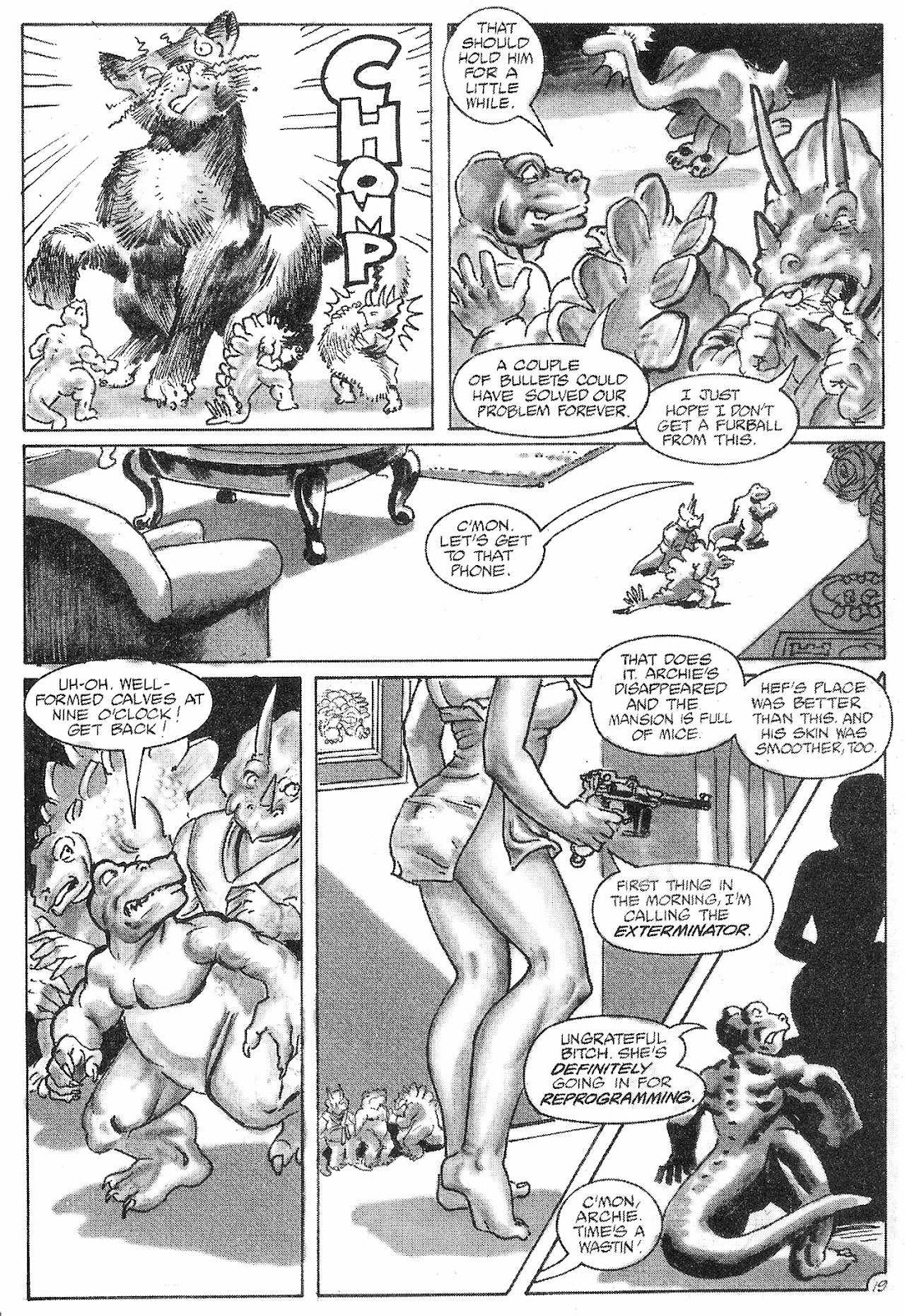 Dinosaurs For Hire (1988) issue 6 - Page 21