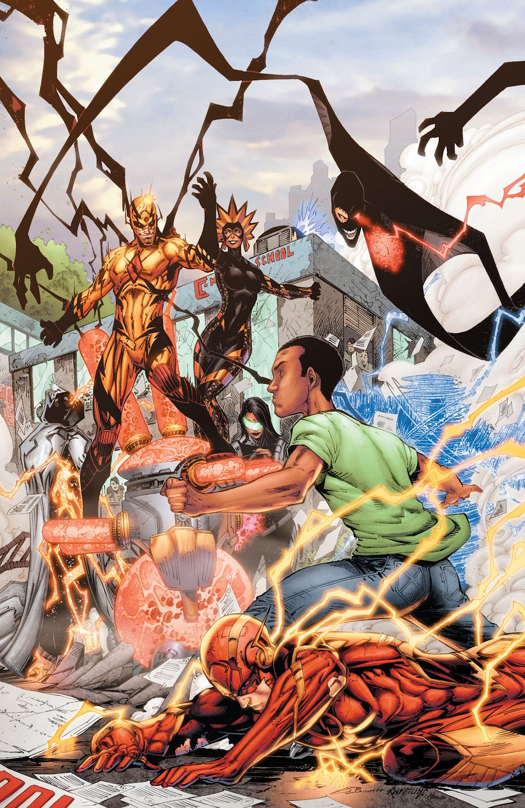 Read online The Flash (2011) comic -  Issue # _TPB 8 (Part 2) - 19