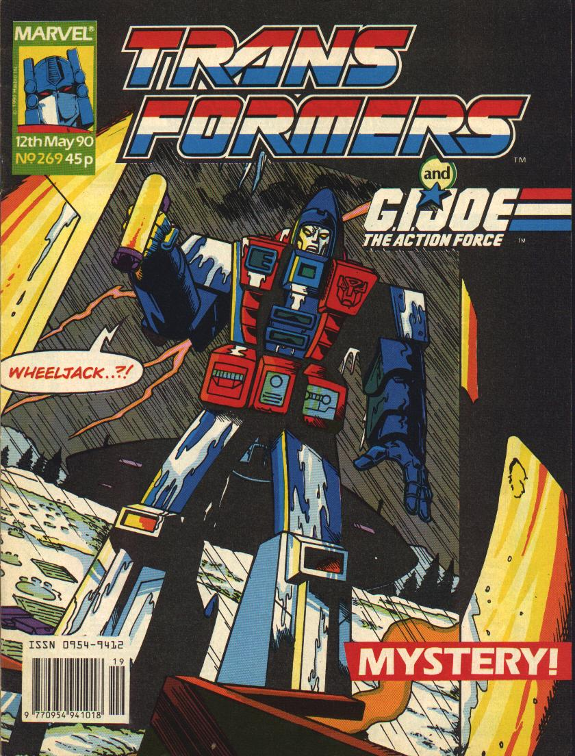 The Transformers (UK) 269 Page 1