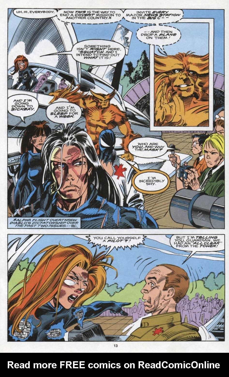 Read online Alpha Flight (1983) comic -  Issue #104 - 11