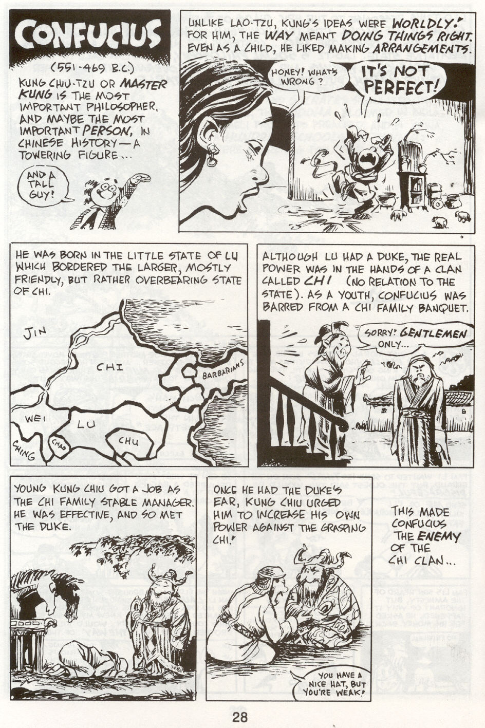 Read online The Cartoon History of the Universe comic -  Issue #9 - 31