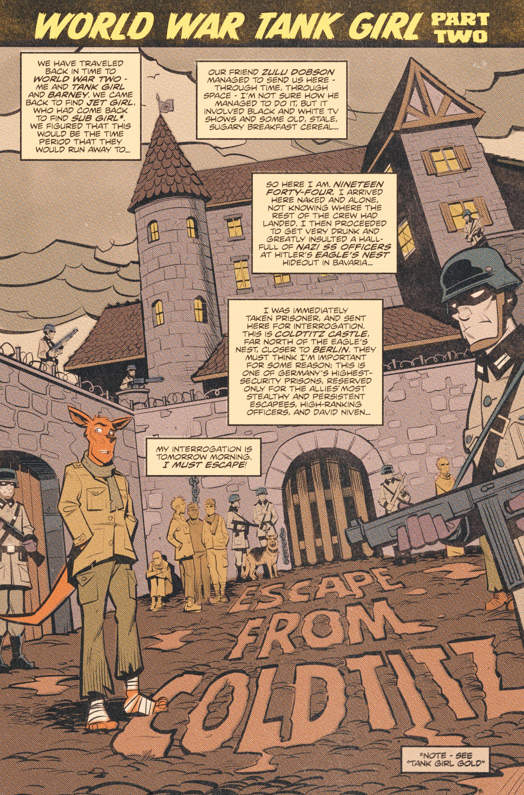 Read online Tank Girl: World War Tank Girl comic -  Issue #2 - 3