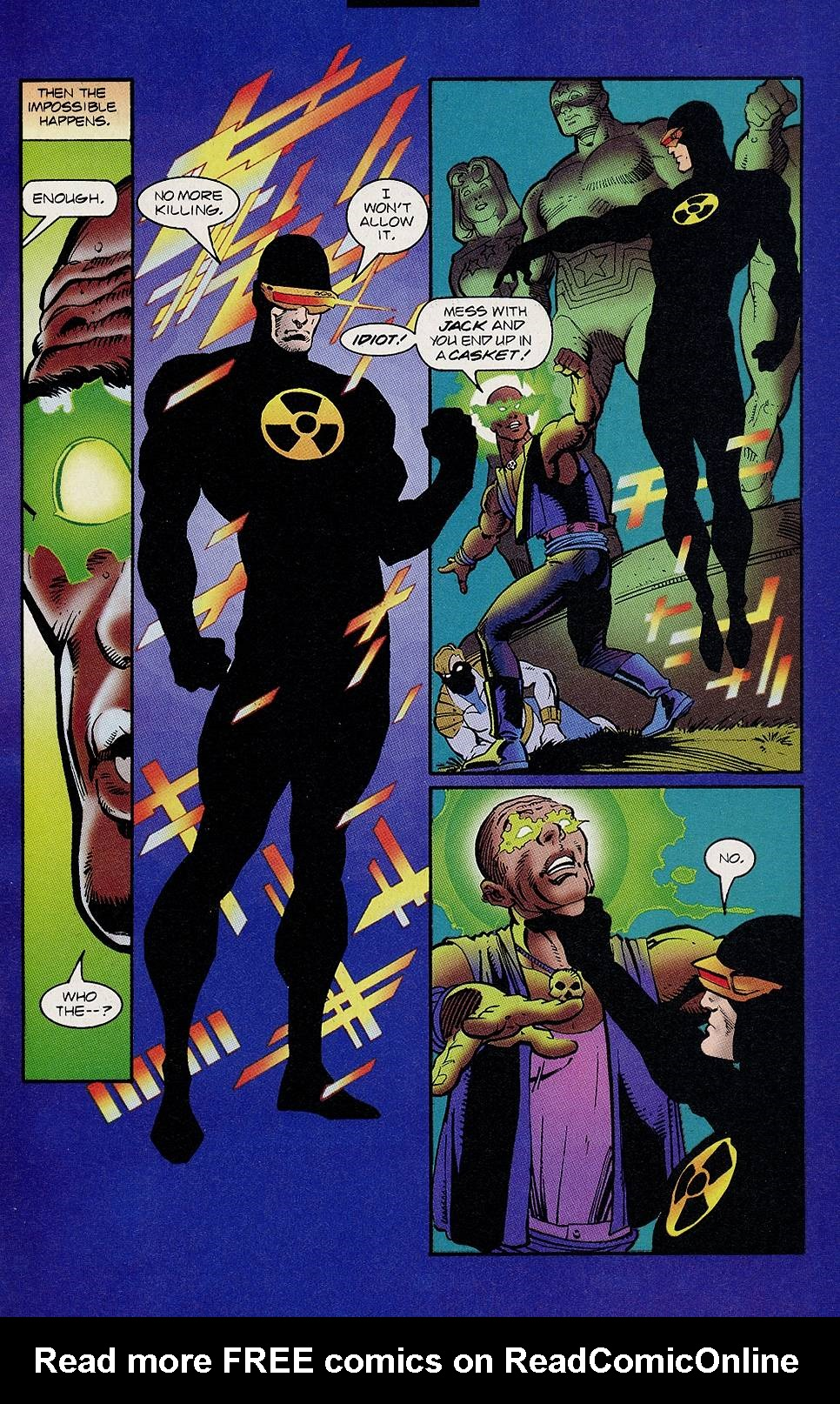 Read online Solar, Man of the Atom comic -  Issue #46 - 8