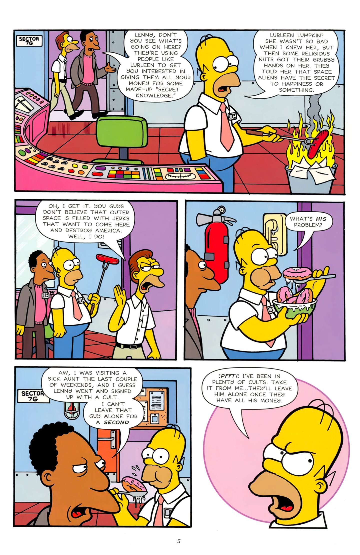 Read online Simpsons Comics comic -  Issue #179 - 6