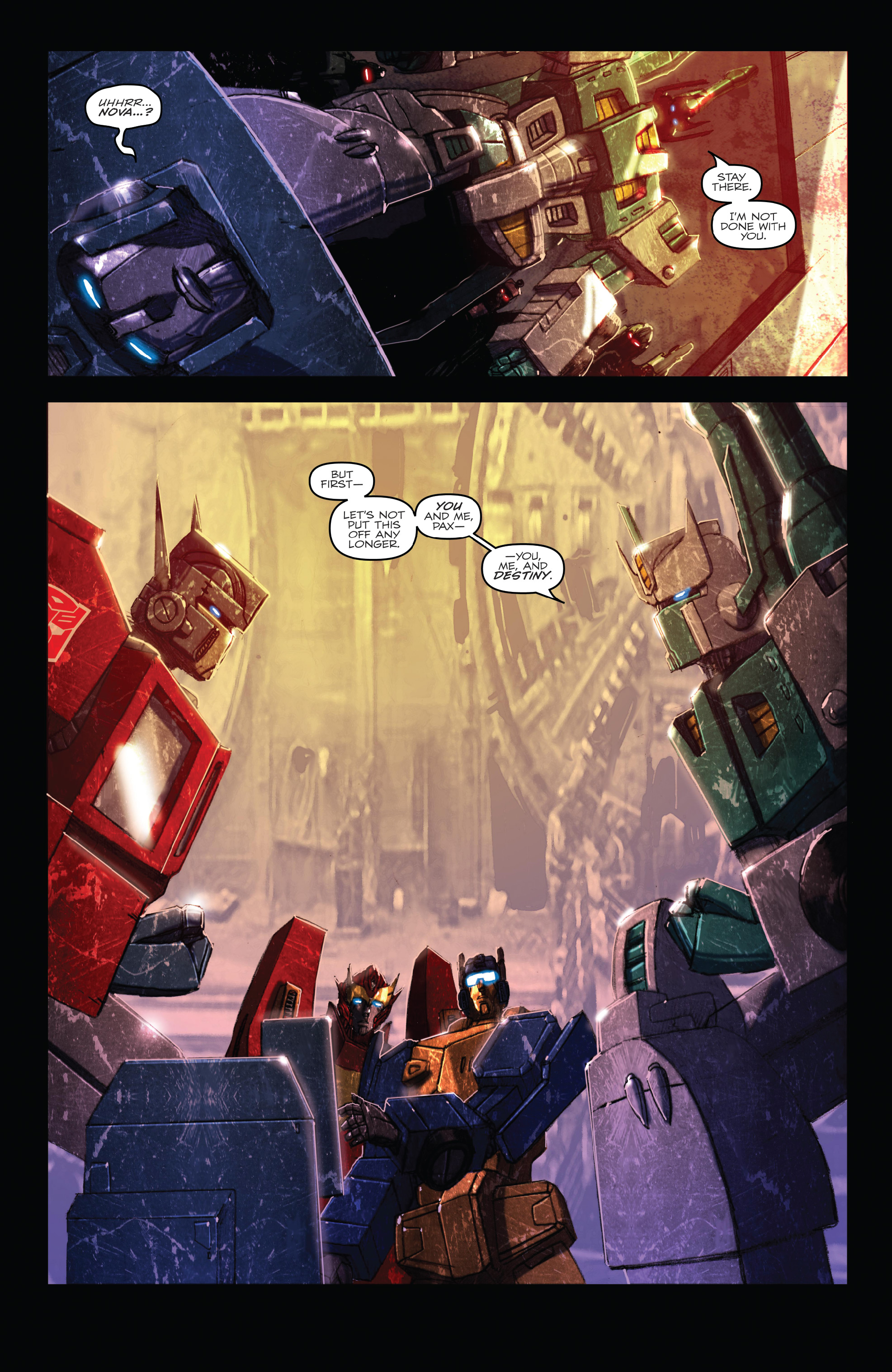 Read online The Transformers: Dark Cybertron Finale comic -  Issue # Full - 42