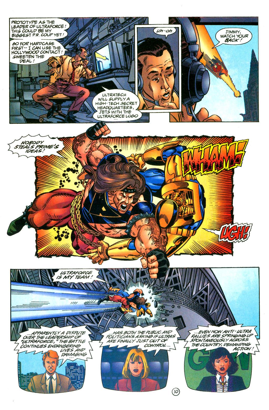 Read online UltraForce (1994) comic -  Issue #0 - 25