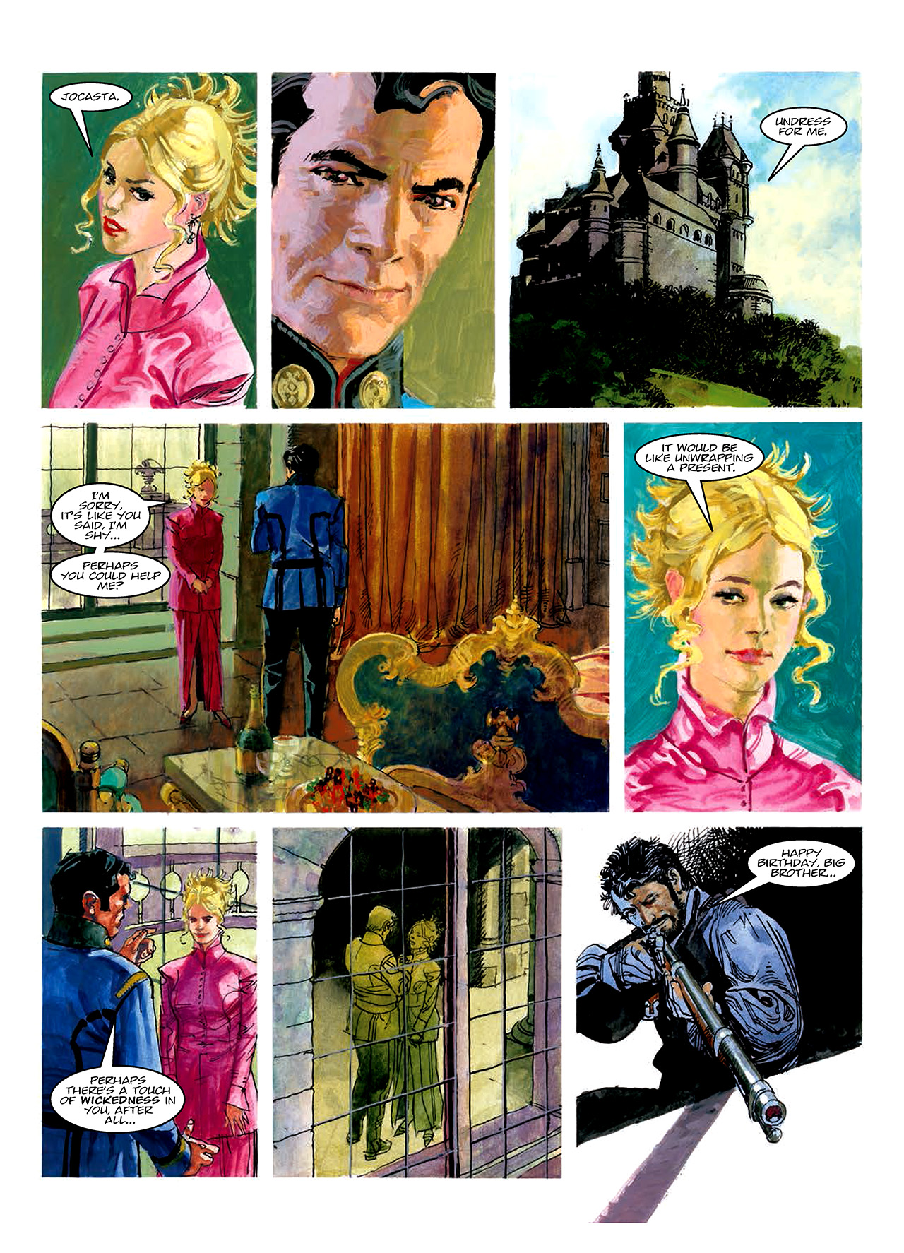 Read online Nikolai Dante comic -  Issue # TPB 10 - 165