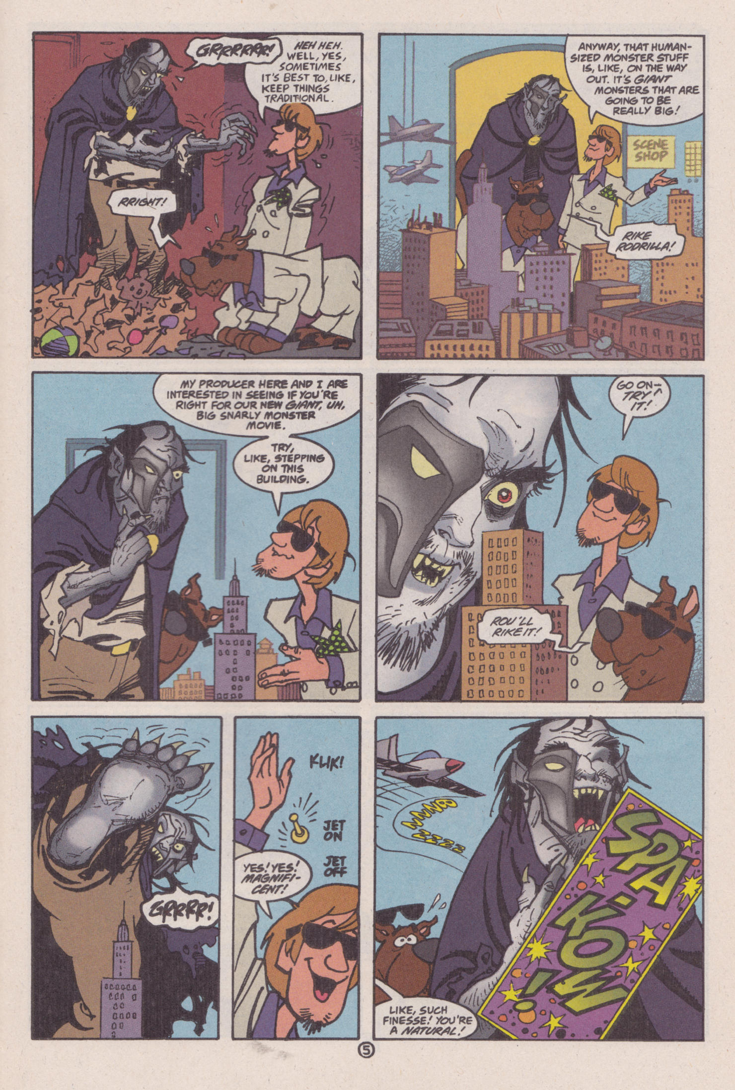 Read online Scooby-Doo (1997) comic -  Issue #8 - 20
