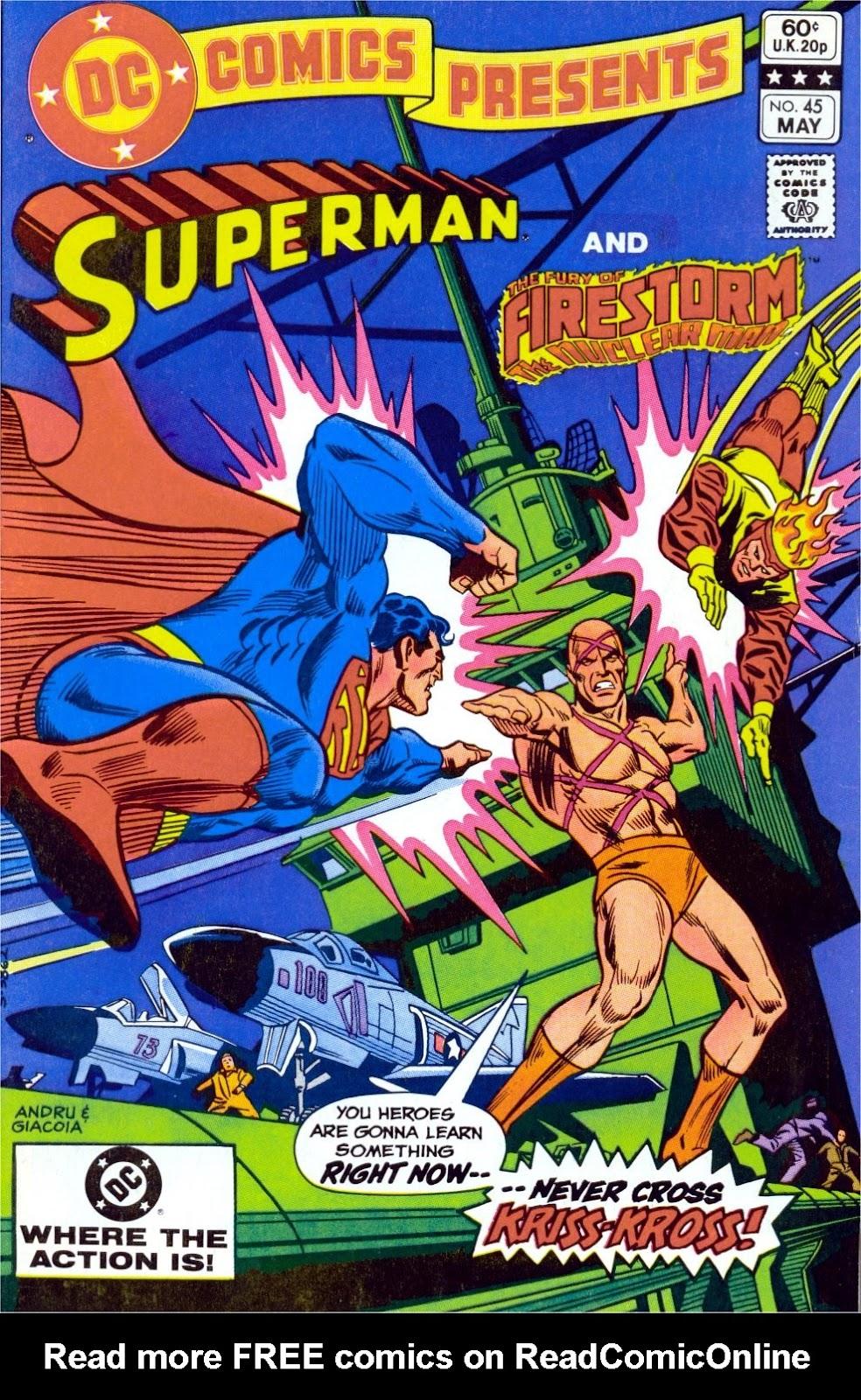 DC Comics Presents (1978) 45 Page 1