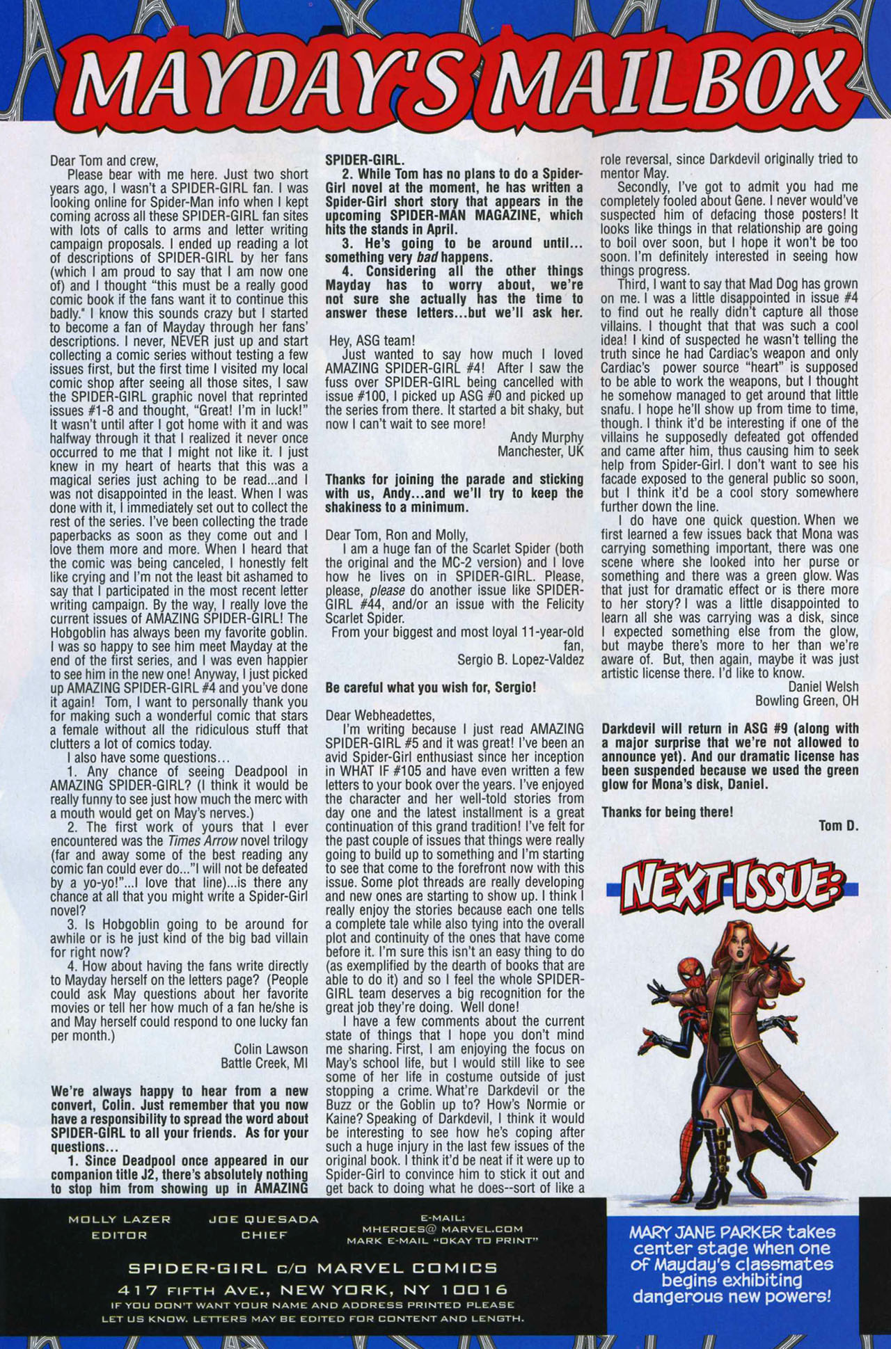 Read online Amazing Spider-Girl comic -  Issue #7 - 23