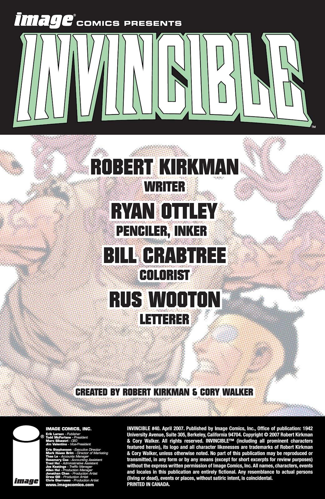 Invincible (2003) 40 Page 2
