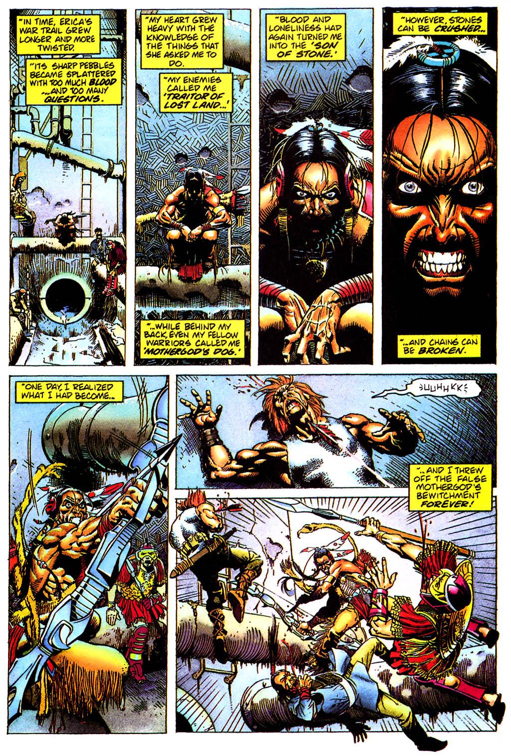 Read online Turok, Dinosaur Hunter (1993) comic -  Issue #0 - 22