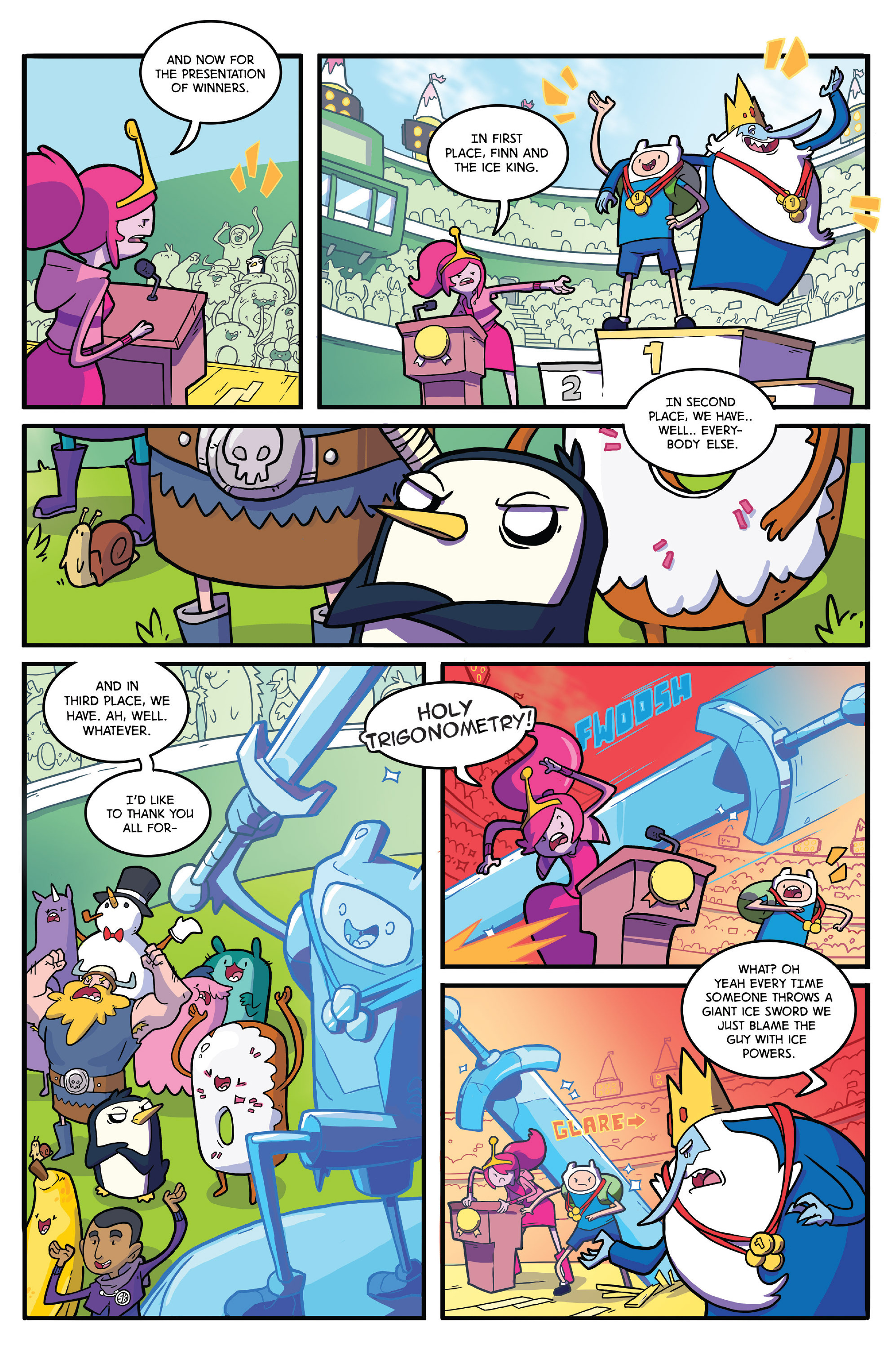 Read online Adventure Time comic -  Issue #41 - 22