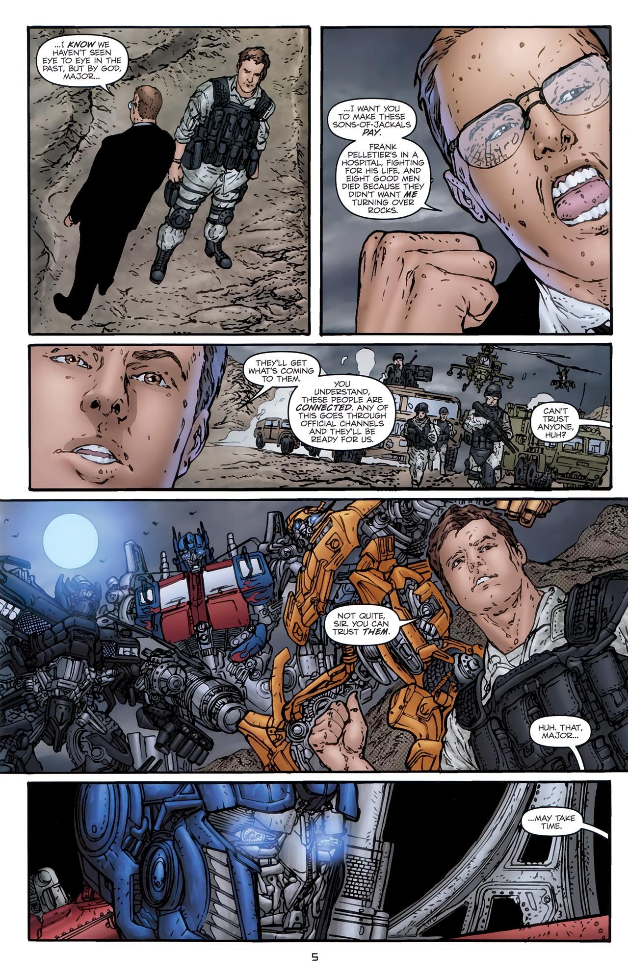 Read online Transformers: Nefarious comic -  Issue #5 - 8