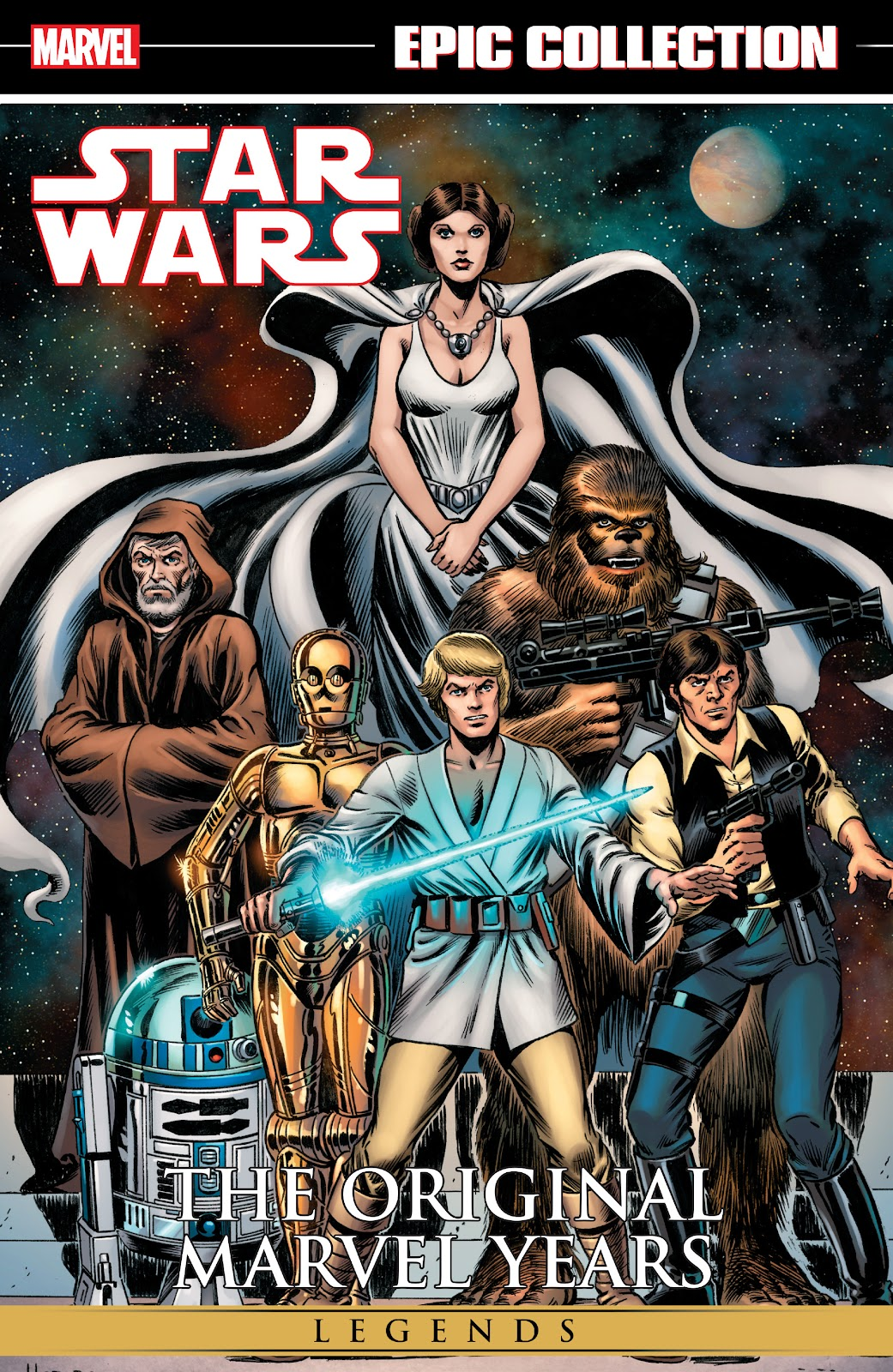 Read online Star Wars Legends: The Original Marvel Years - Epic Collection comic -  Issue # TPB 1 (Part 1) - 1