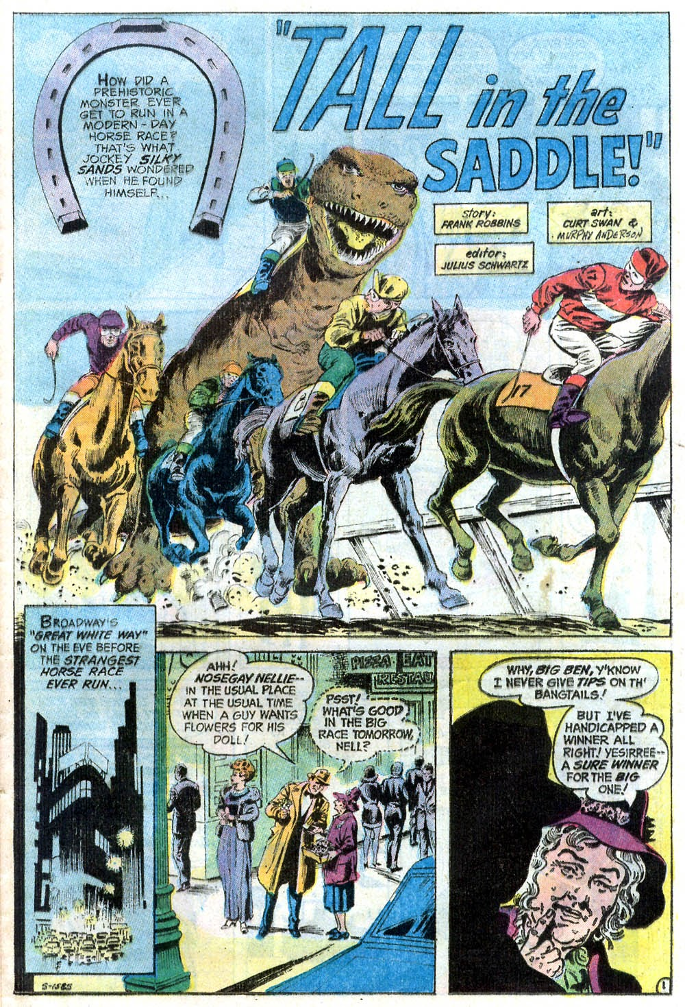 Read online Strange Sports Stories (1973) comic -  Issue #2 - 16
