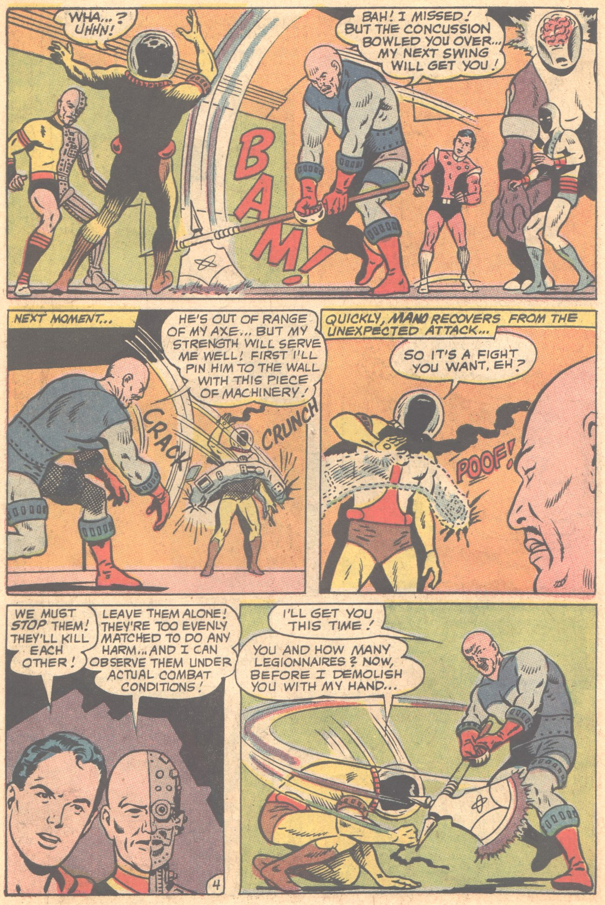Read online Adventure Comics (1938) comic -  Issue #353 - 6