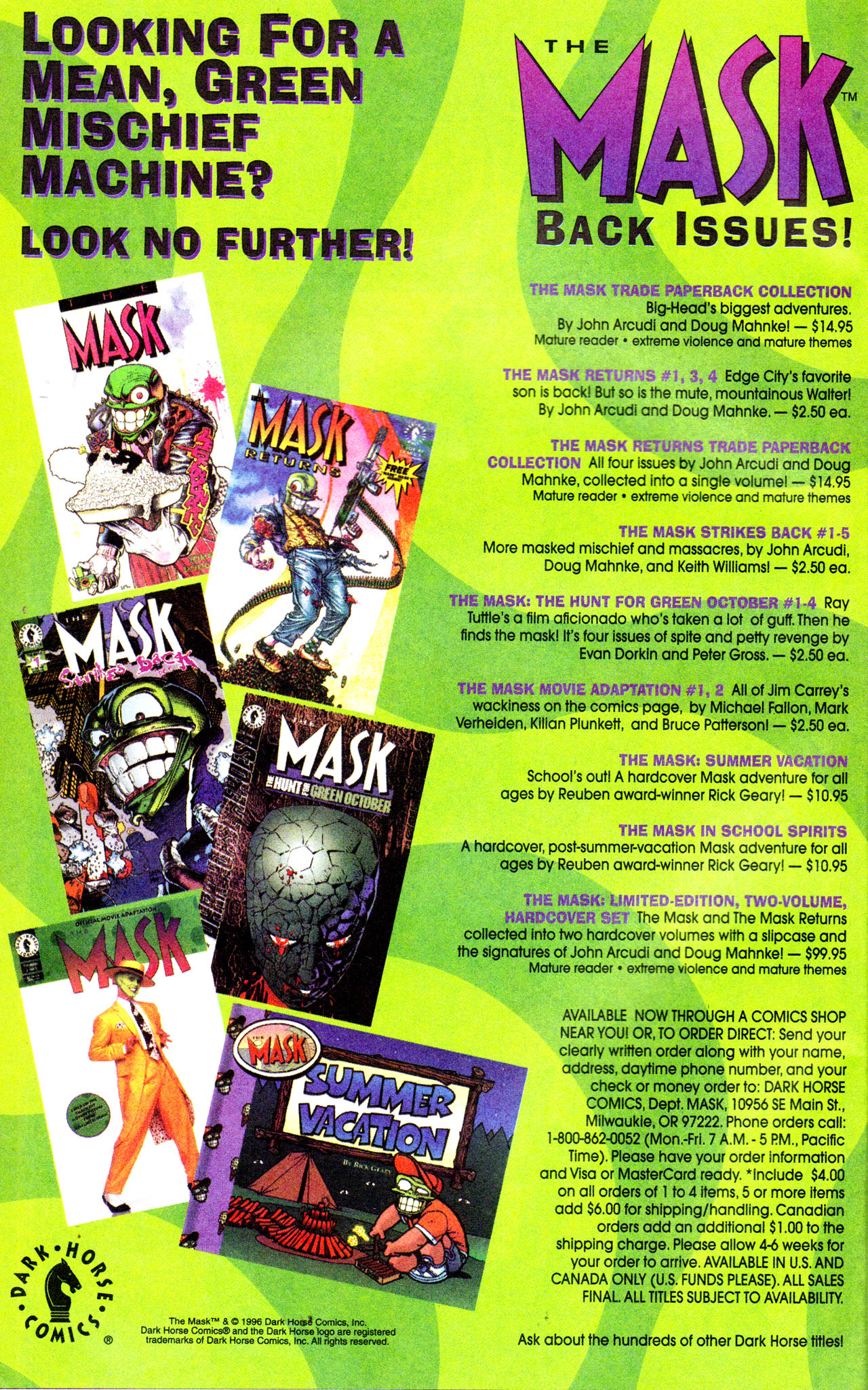 Read online Adventures Of The Mask comic -  Issue #7 - 27