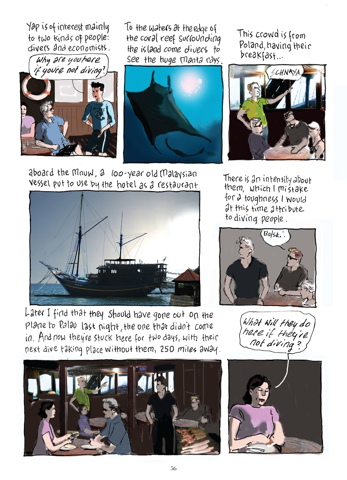 Read online The Lovely Horrible Stuff comic -  Issue # TPB - 58