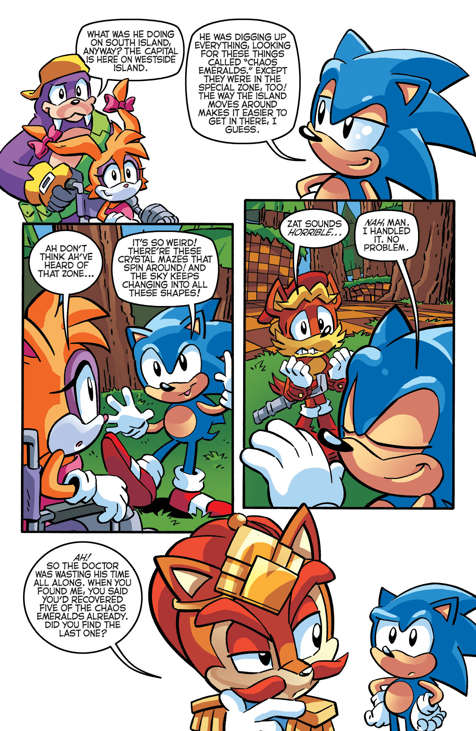 Read online Sonic The Hedgehog comic -  Issue #288 - 18