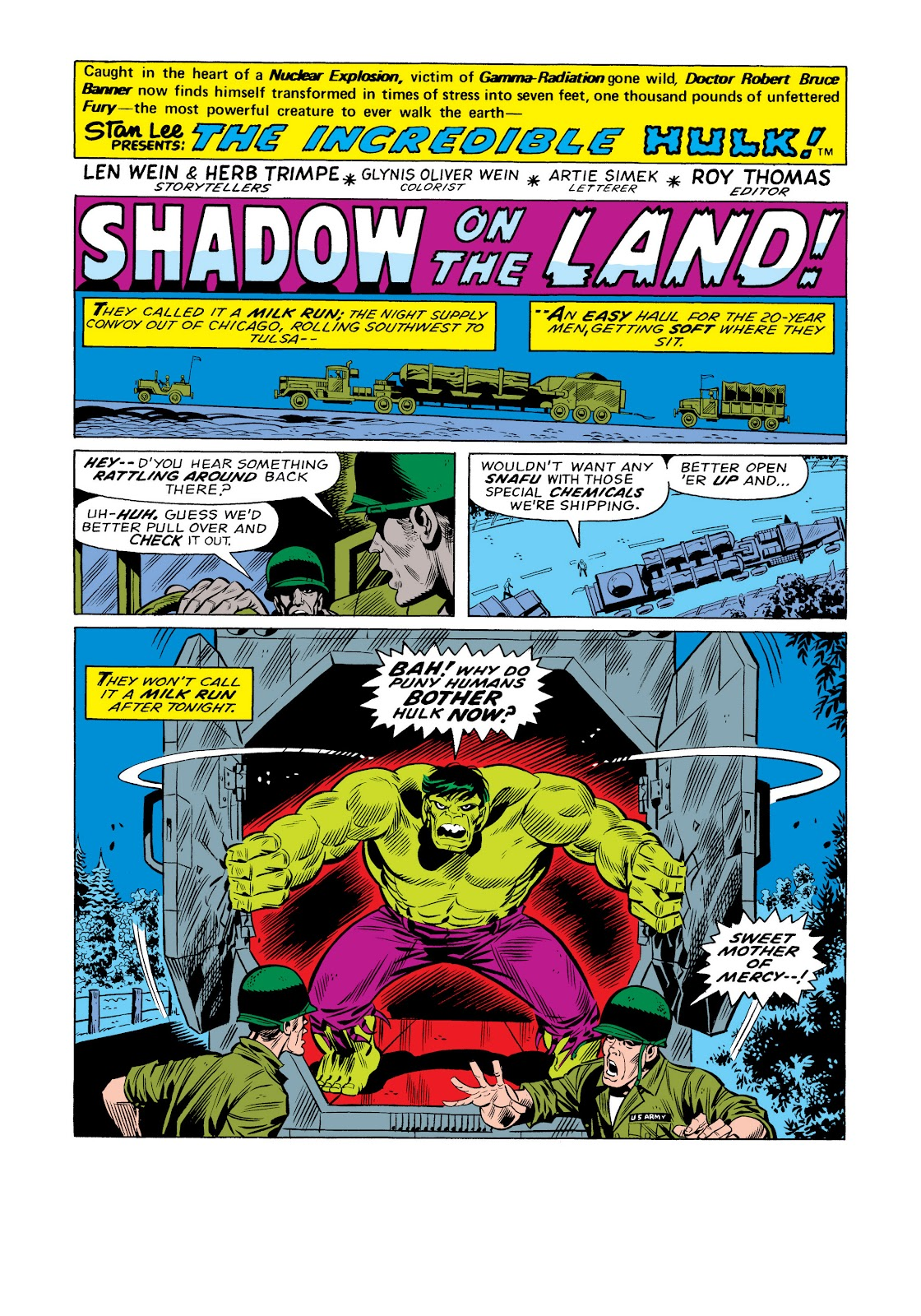 Read online Marvel Masterworks: The Incredible Hulk comic -  Issue # TPB 11 (Part 1) - 9
