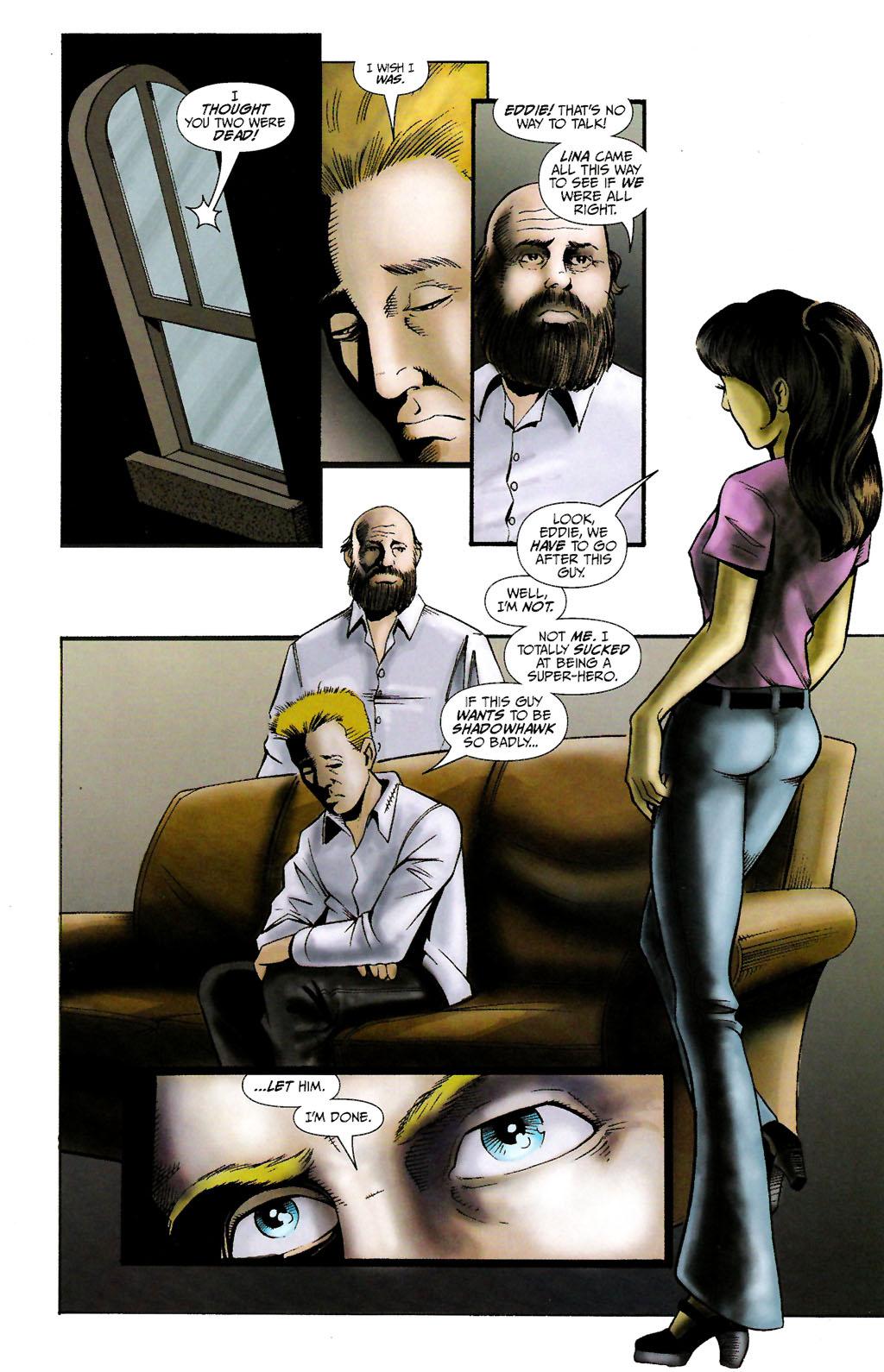 Read online ShadowHawk (2005) comic -  Issue #10 - 13
