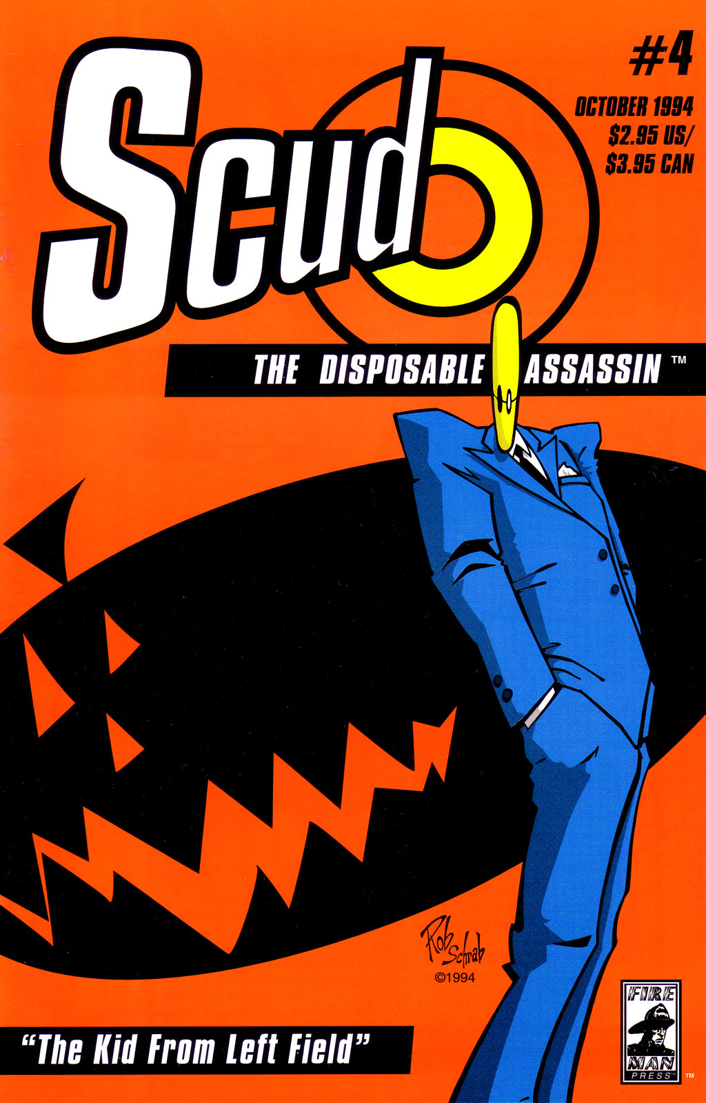 Read online Scud: The Disposable Assassin (1994) comic -  Issue #4 - 2