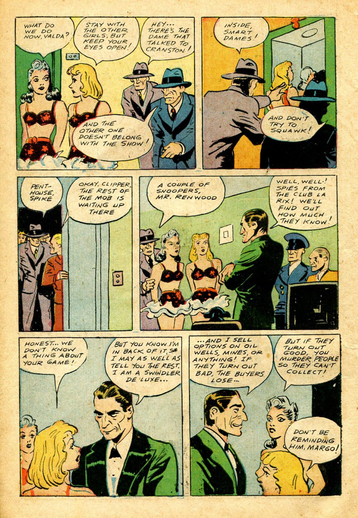 Read online Shadow Comics comic -  Issue #51 - 15