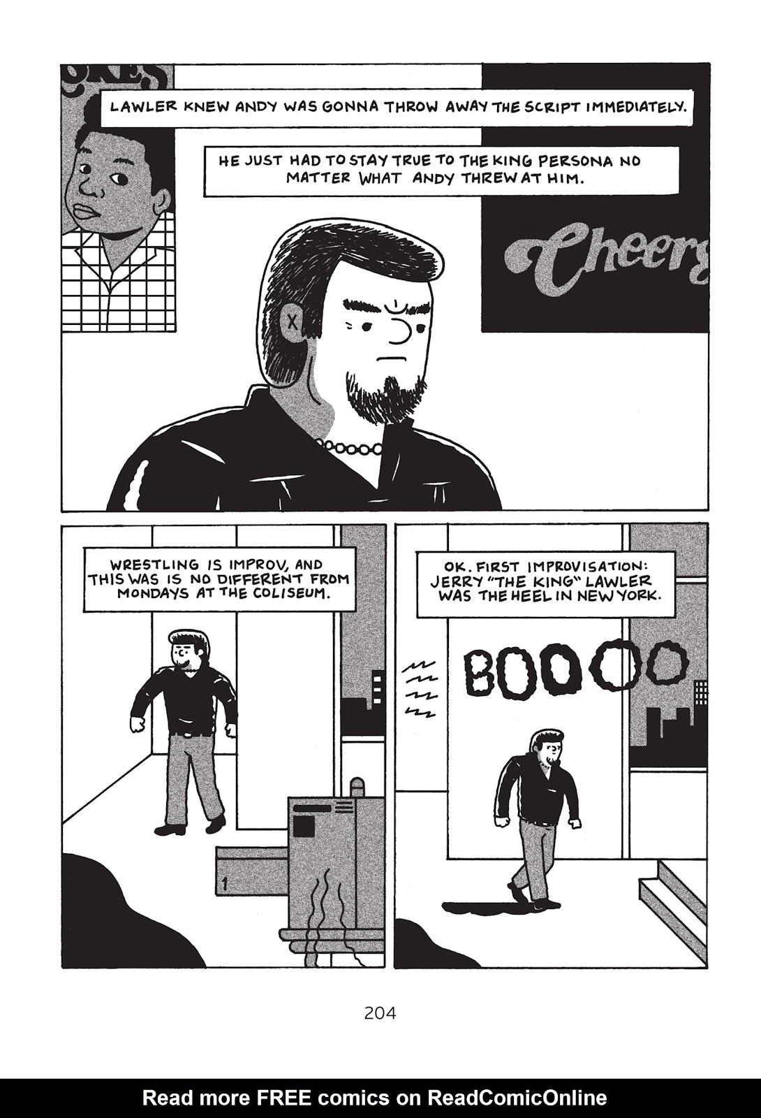 Read online Is This Guy For Real?: The Unbelievable Andy Kaufman comic -  Issue # TPB (Part 3) - 9